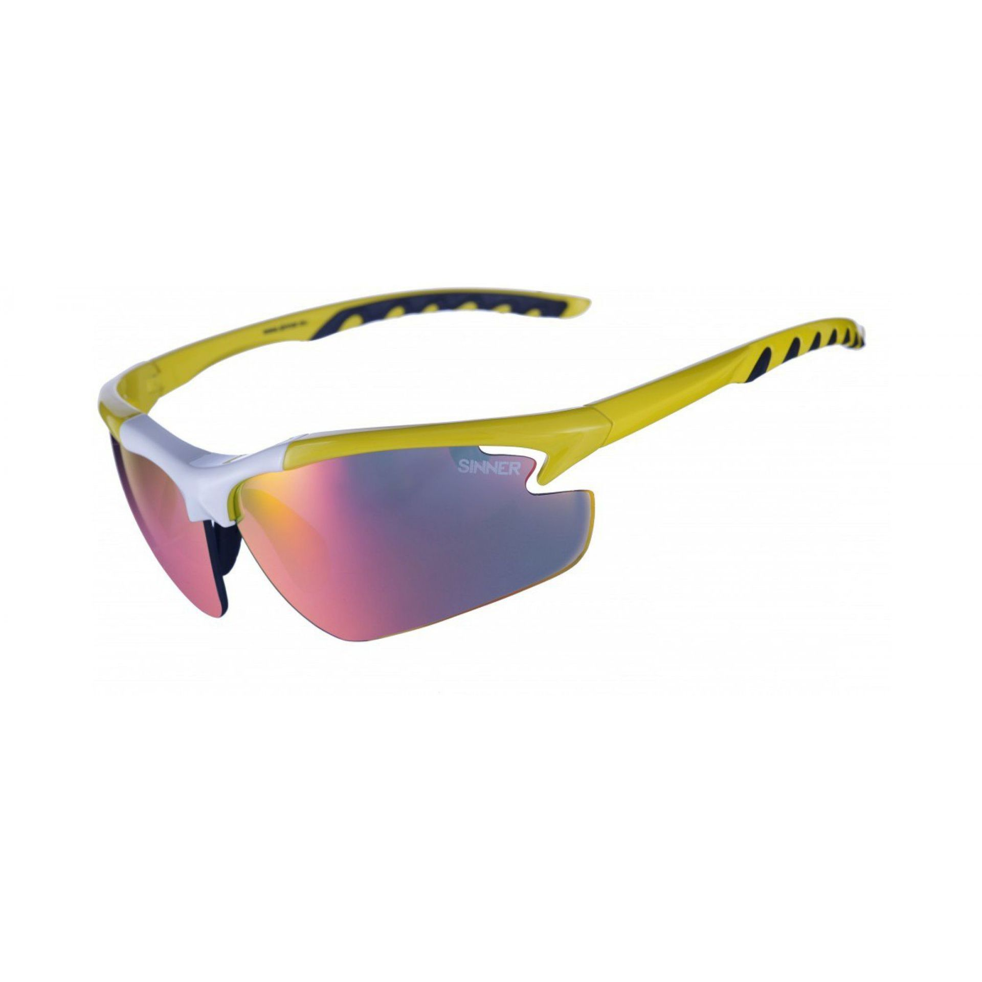 OKULARY SINNER FIREBUG YELLOW