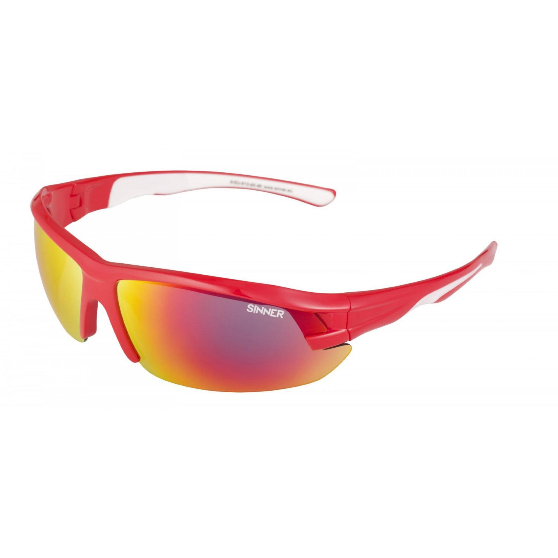 OKULARY SINNER SPEED RED 1