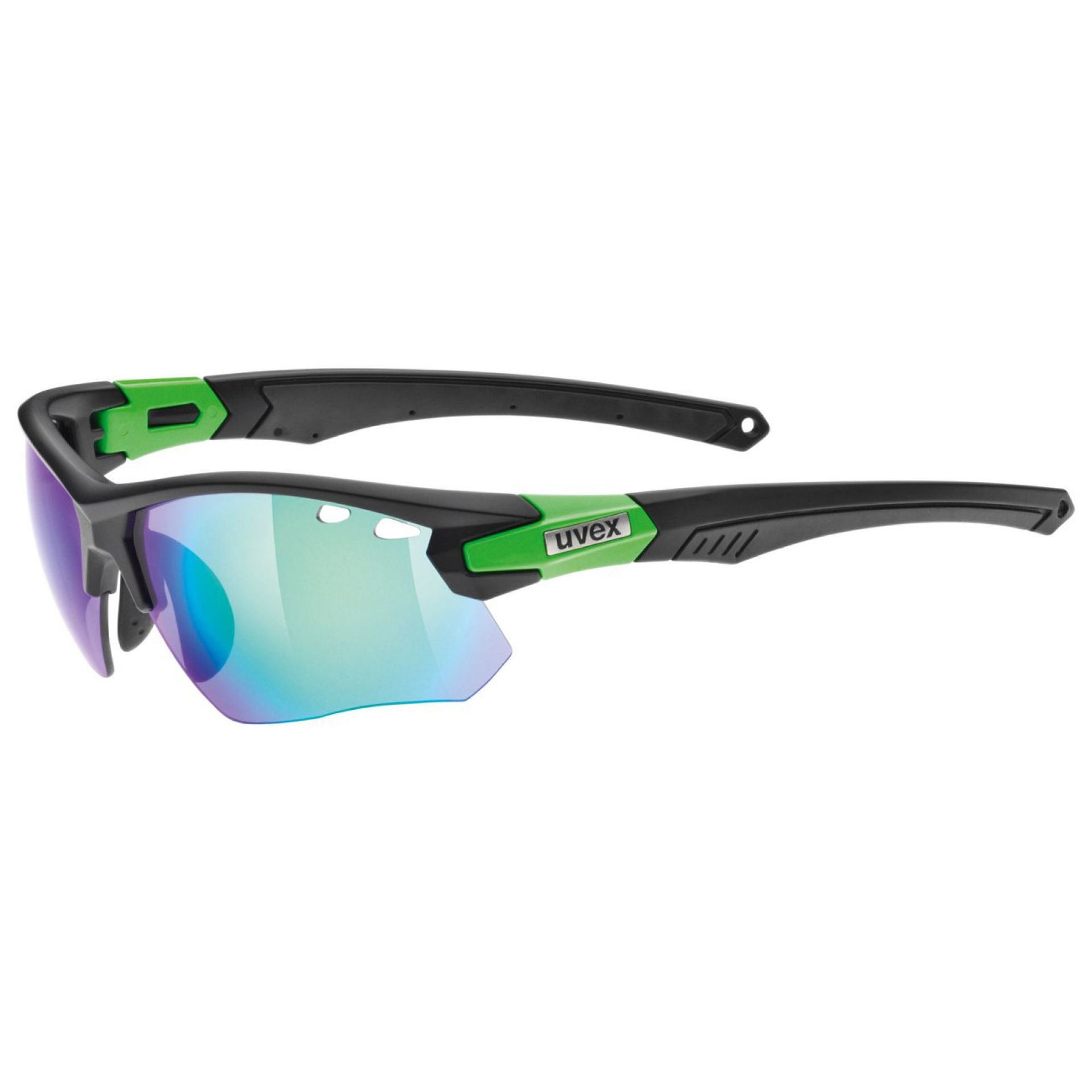 OKULARY UVEX SPORTSTYLE  109  BLACK MAT GREEN