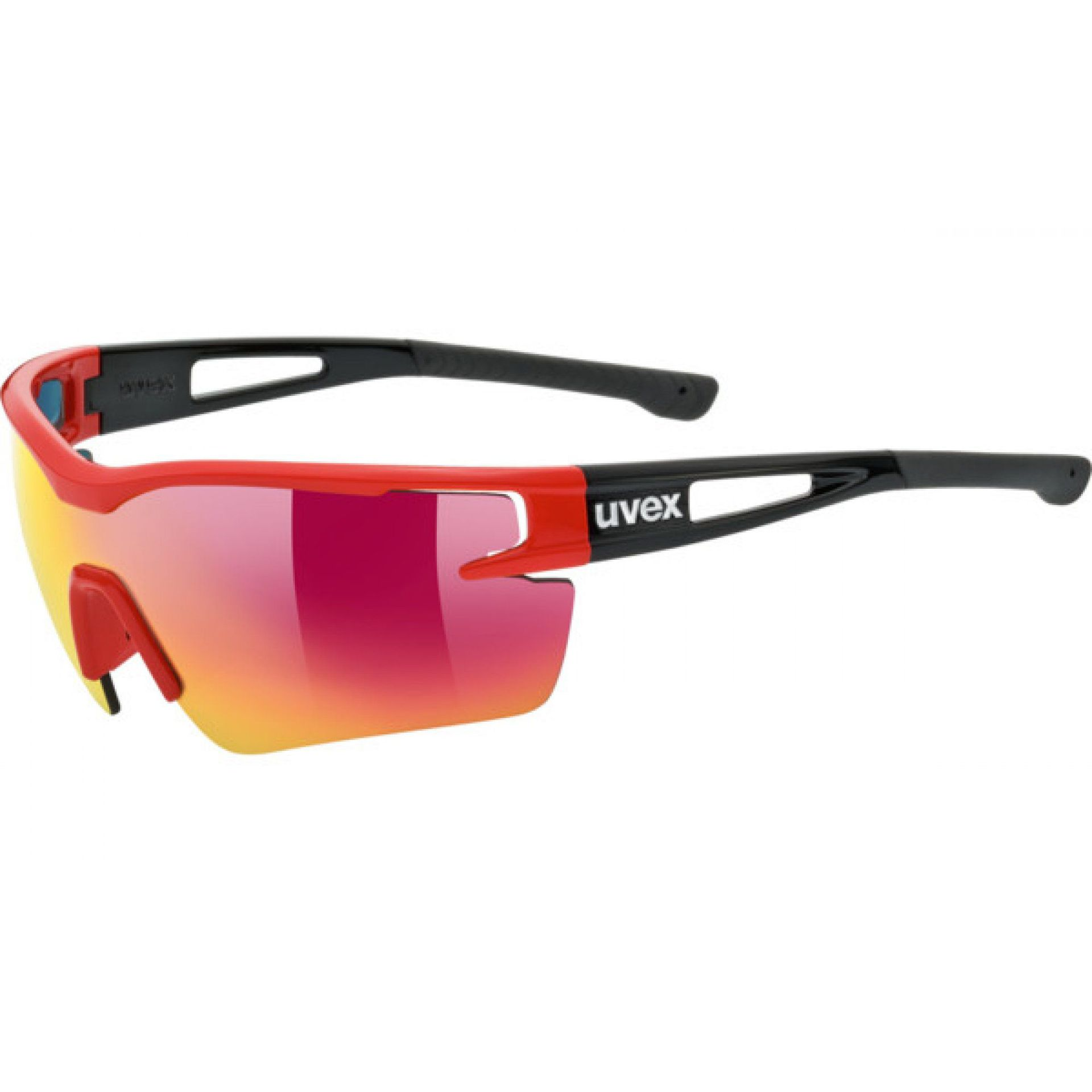 OKULARY UVEX SPORTSTYLE 116 977|3216 RED|BLACK MAT
