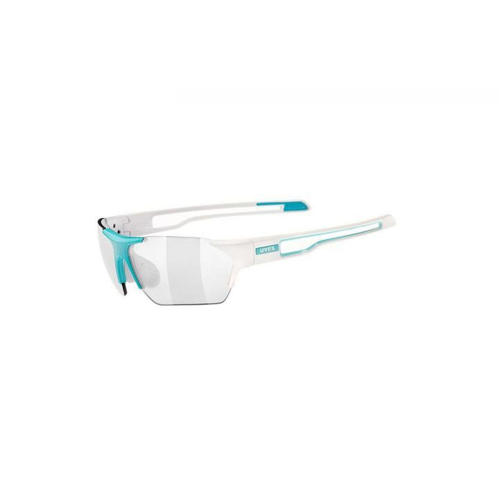 OKULARY UVEX SPORTSTYLE 202 SMALL VARIO WHITE BLUE