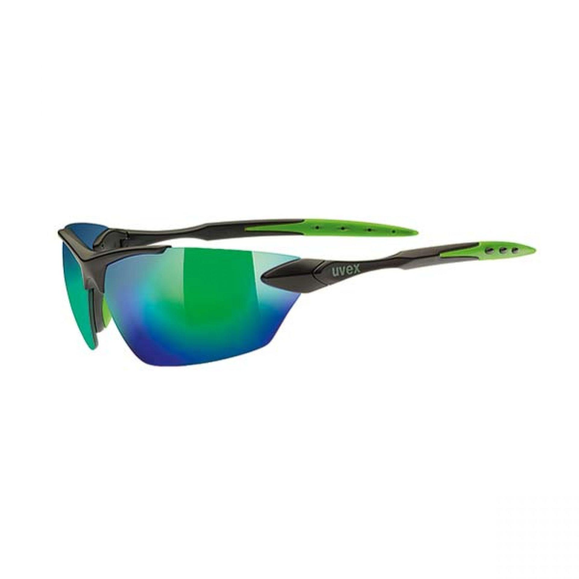 Okulary Uvex Sportstyle 203 czarny|zielony
