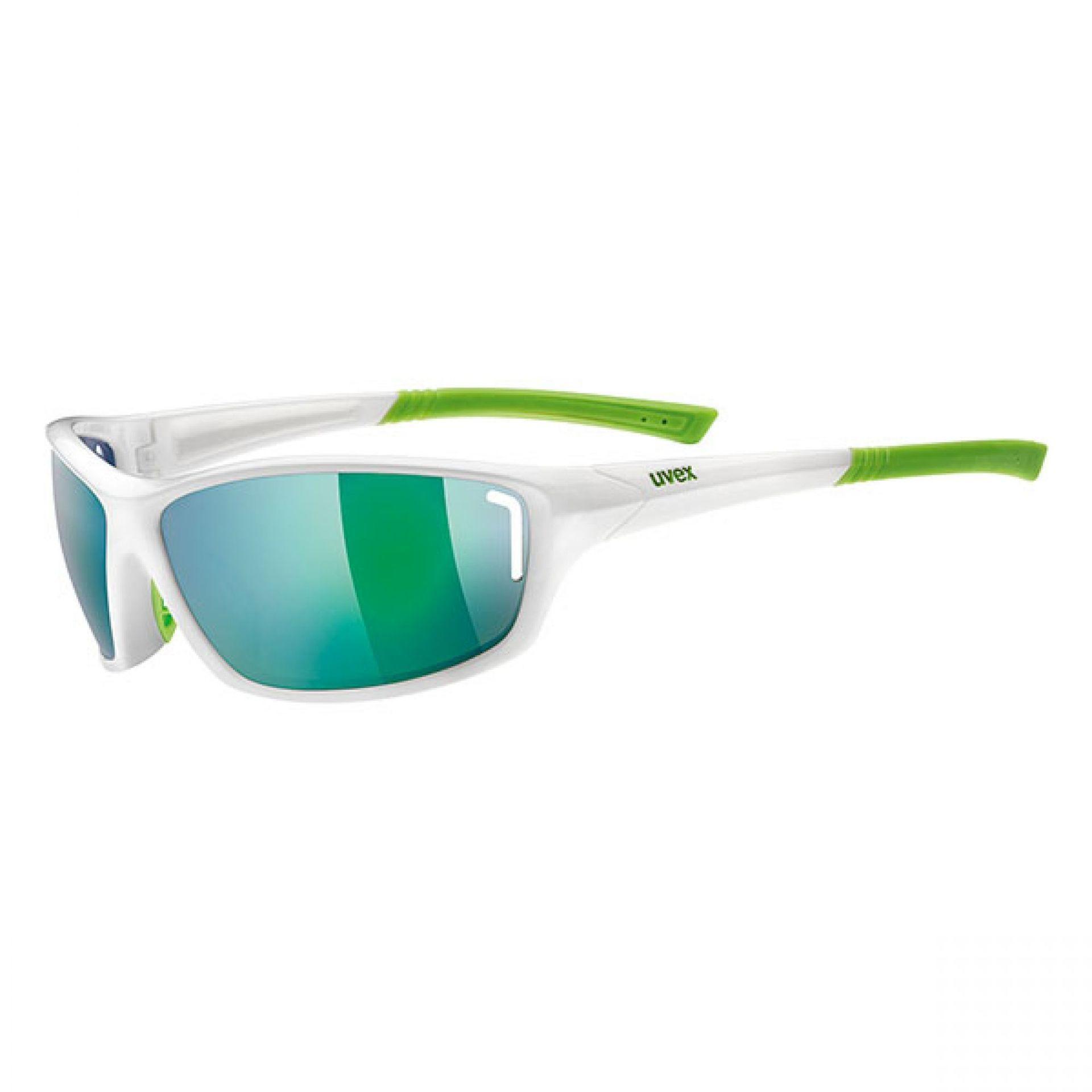 Okulary Uvex Sportstyle 210 biały|zielony