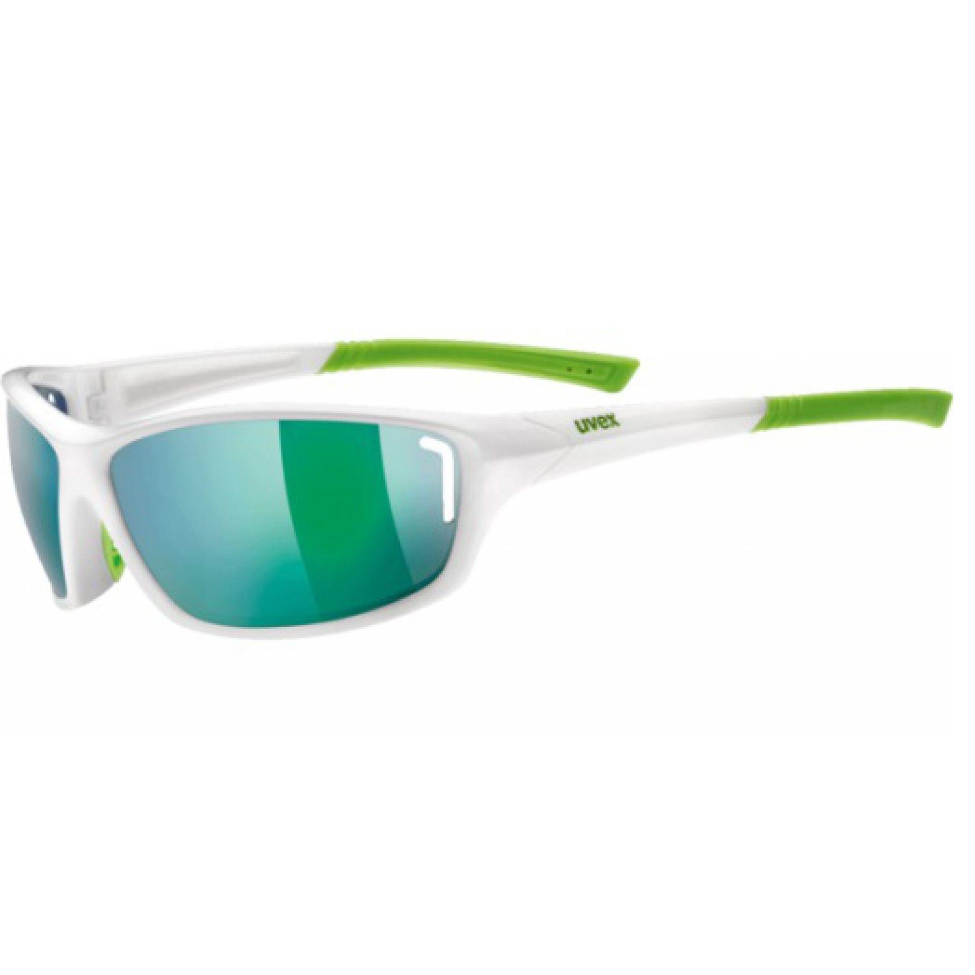 Zielone okulary damskie Uvex