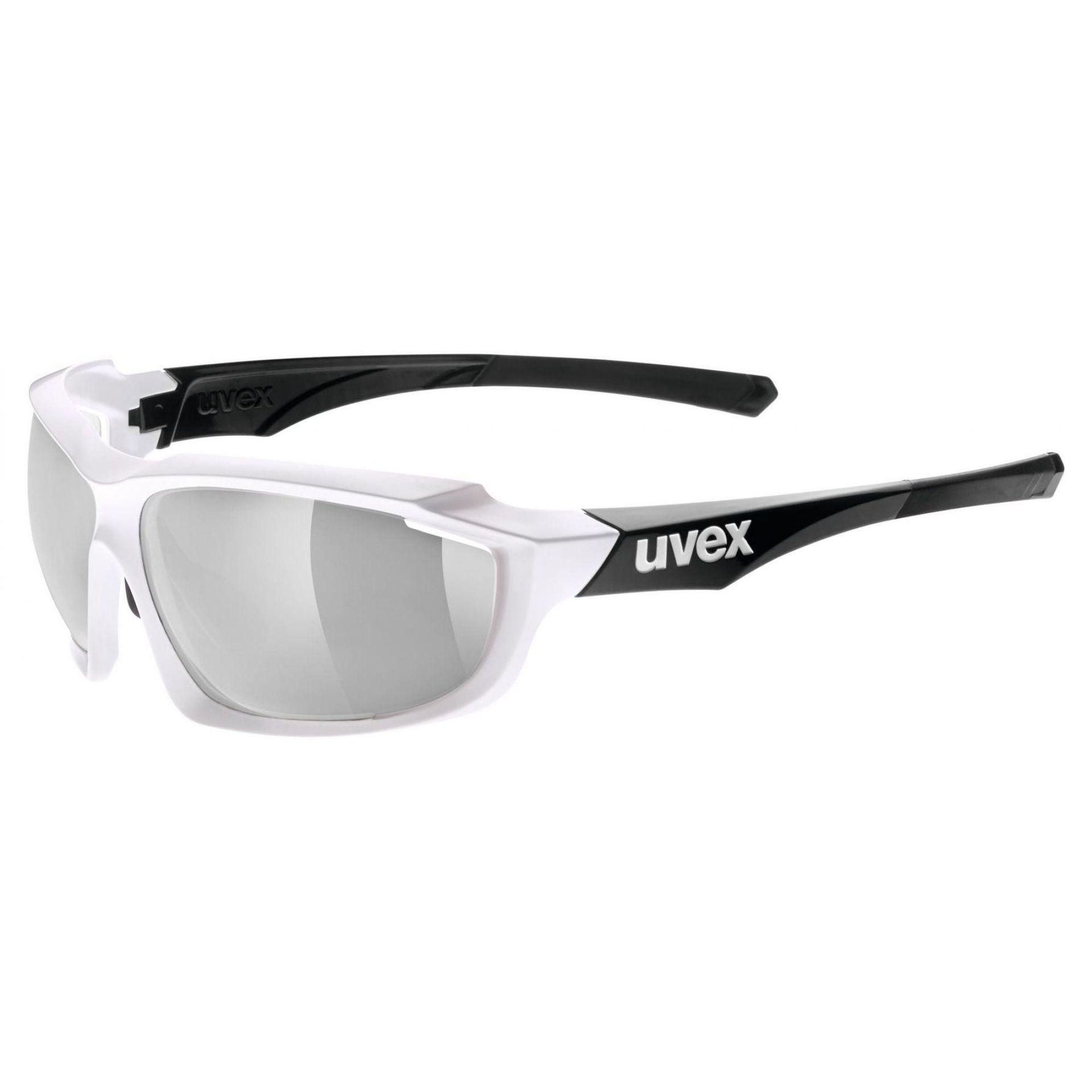 OKULARY UVEX SPORTSTYLE 710 VM WHITE BLACK