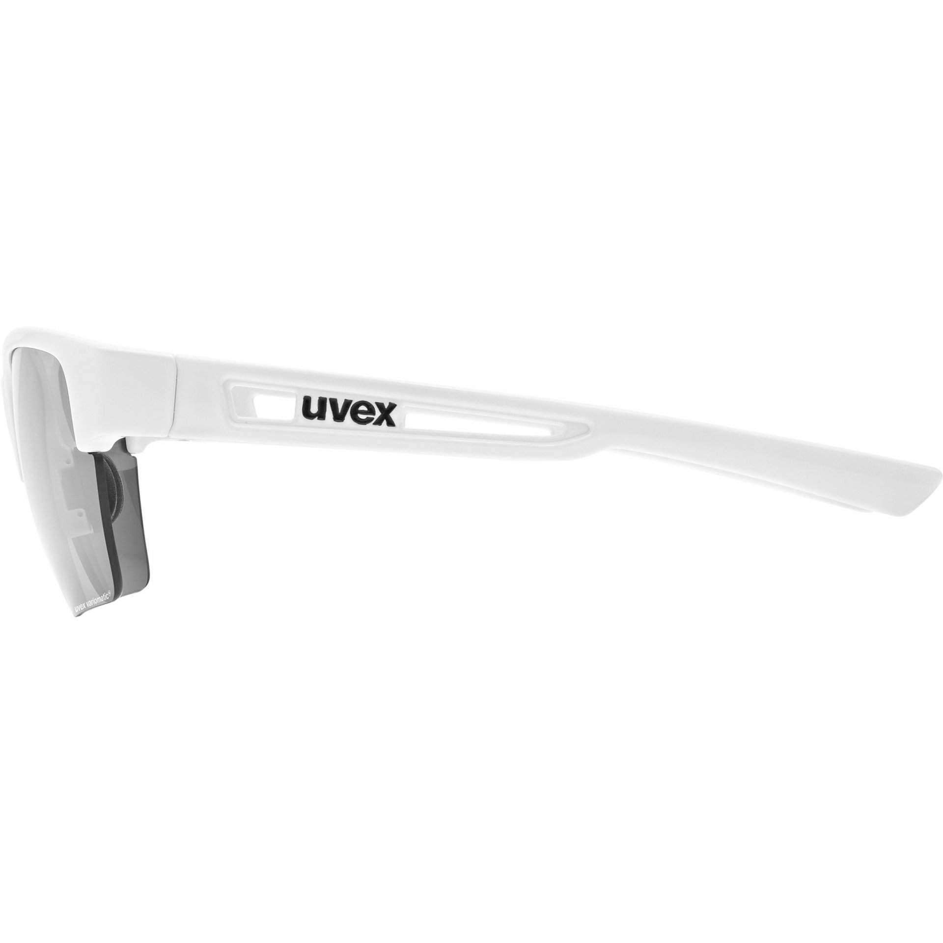 OKULARY UVEX SPORTSTYLE 805 V 53 2 062 8801 WHITE Z BOKU
