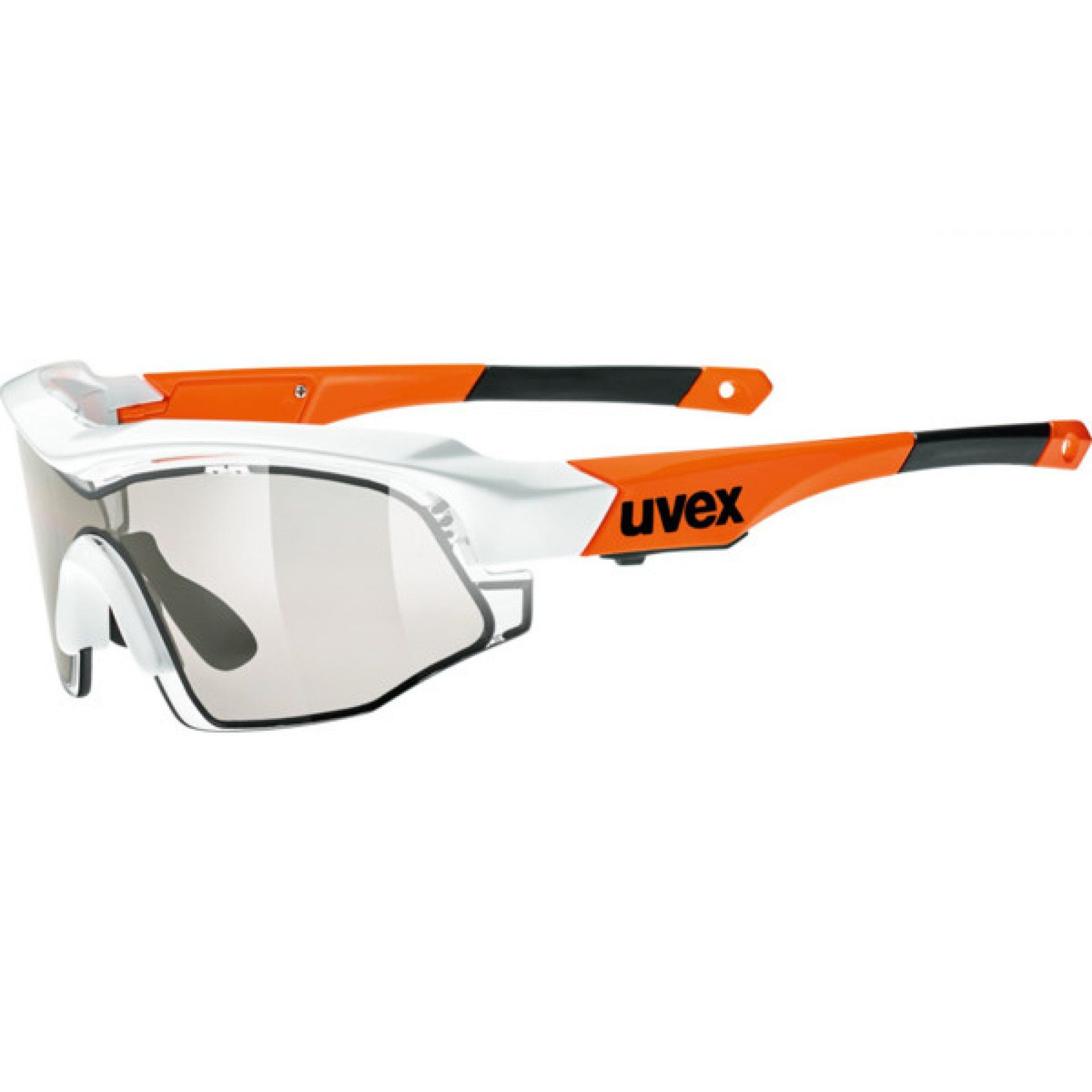 OKULARY UVEX VARIOTRONIC S 948|8399 WHITE|ORANGE