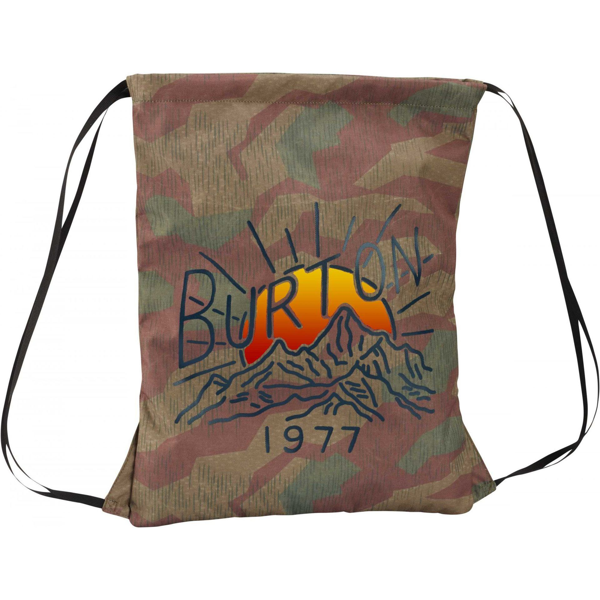 PLECAK BURTON CINCH BAG SPLINTER CAMO PRINT