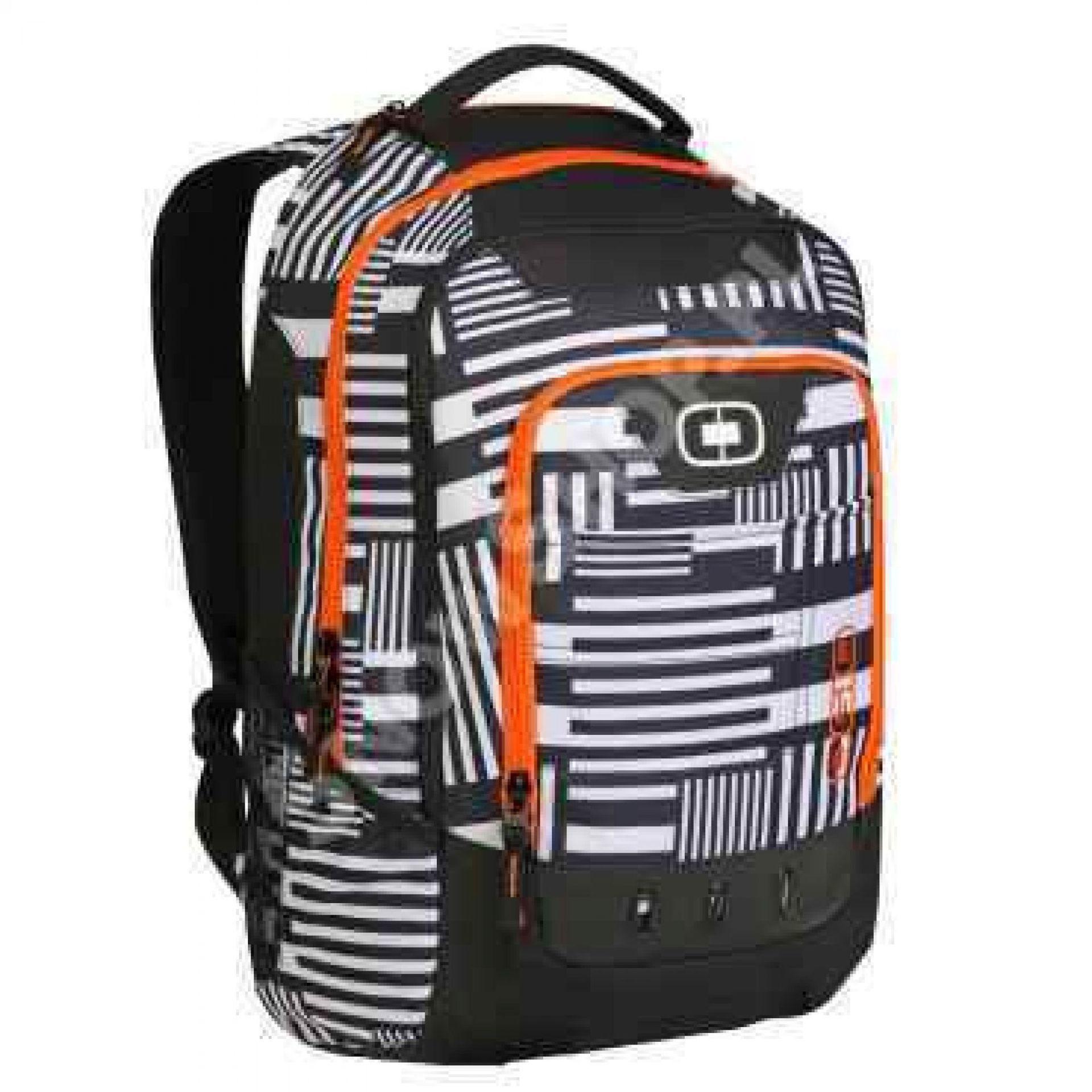 Plecak Ogio Operative czarny|biały| pomarańczowy