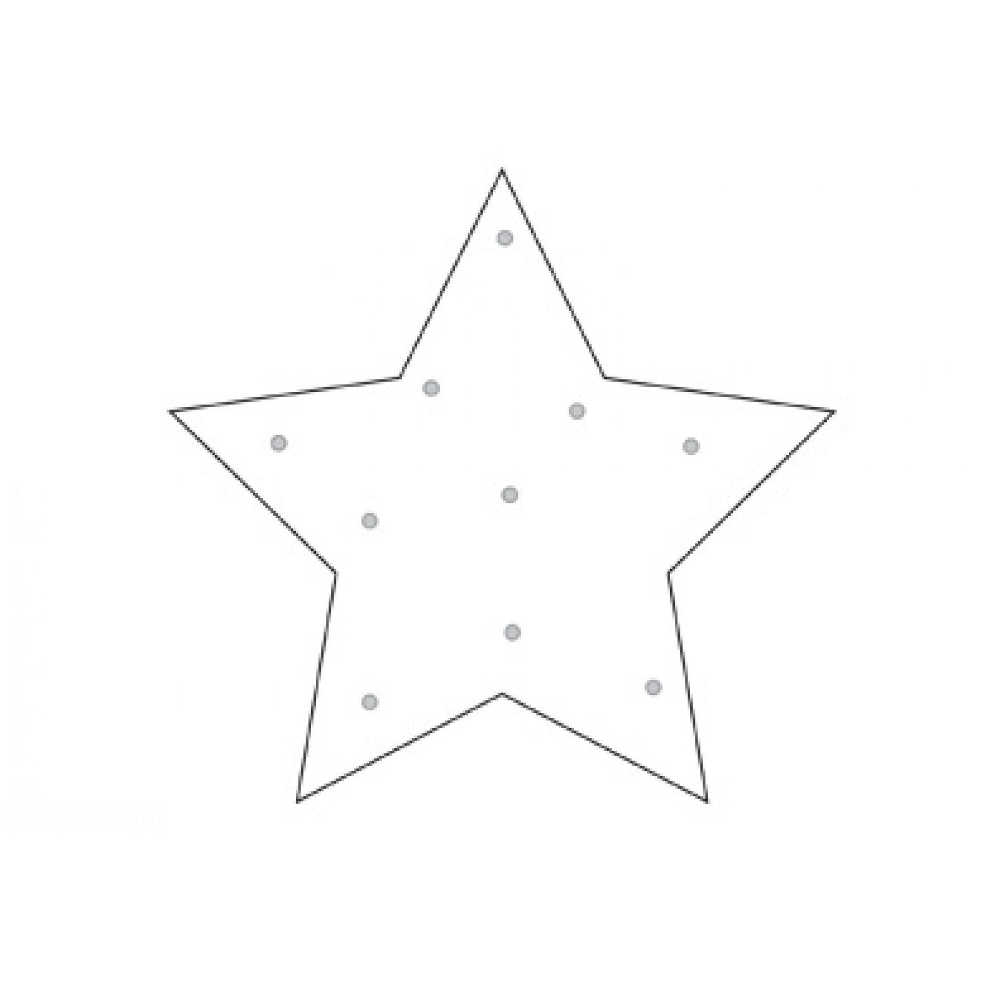 PODKŁADKA ANTYPOŚLIZGOWA ONEBALLJAY CLEAR STAR
