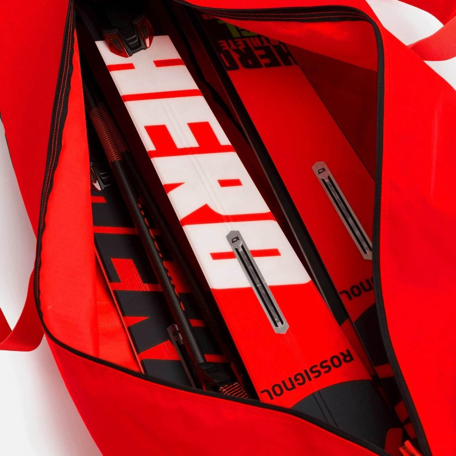 POKROWIEC NA NARTY ROSSIGNOL HERO JR SKI BAG 170 CM RED 3