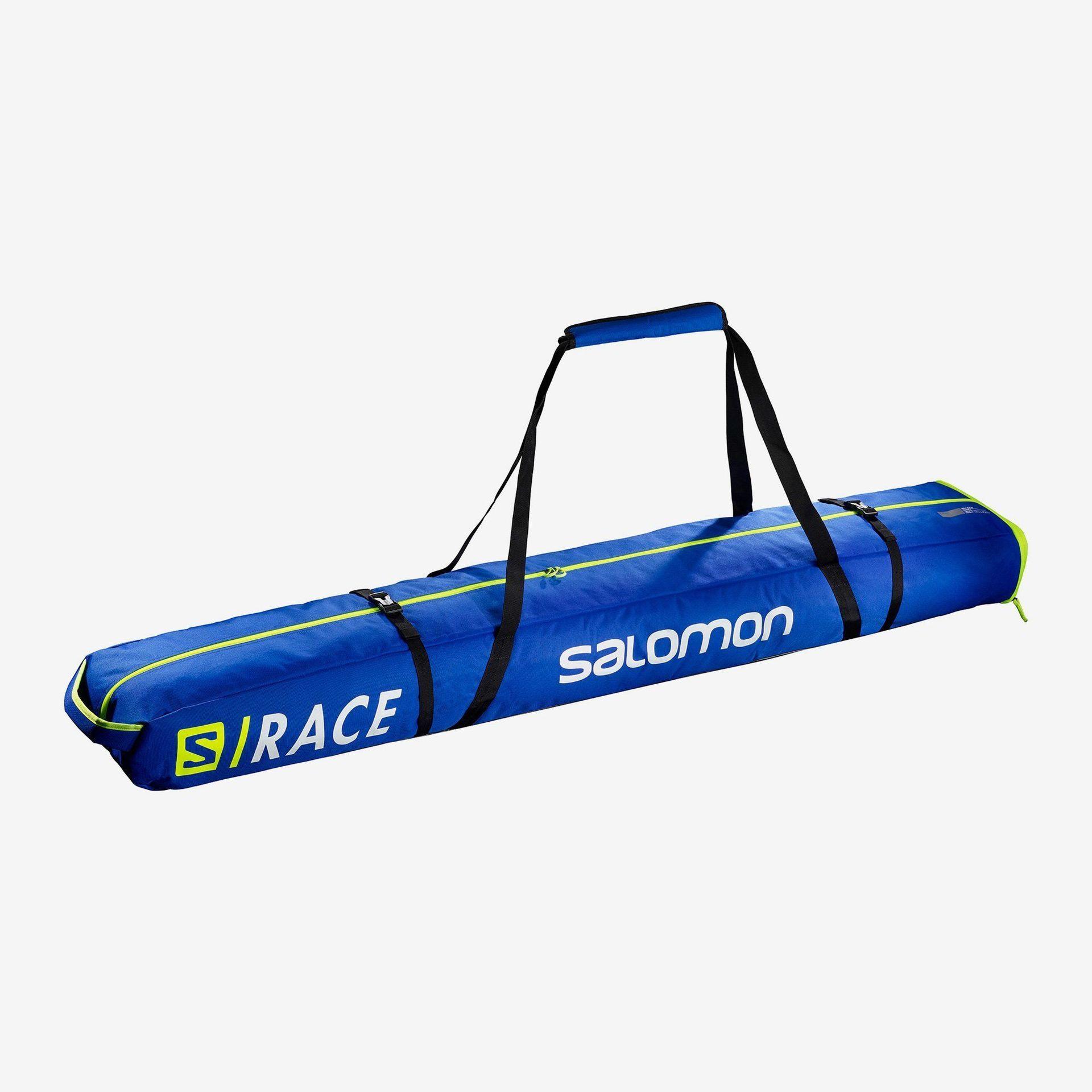 POKROWIEC NA NARTY SALOMON EXTEND 2PAIRS 175+20 SKIBAG RACE BLUE YELLOW 116860