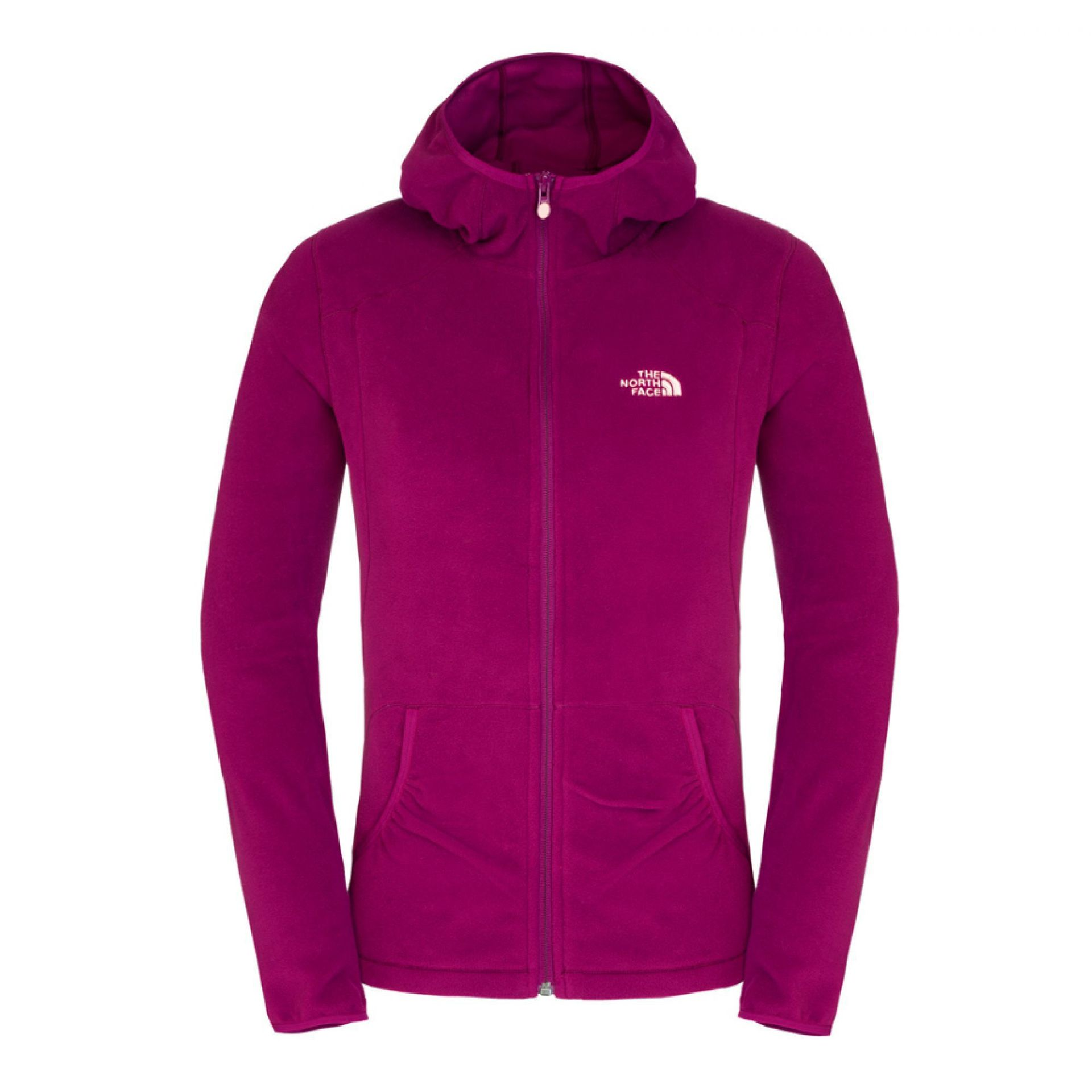 POLAR THE NORTH FACE MASONIC HOODIE FIOLETOWY