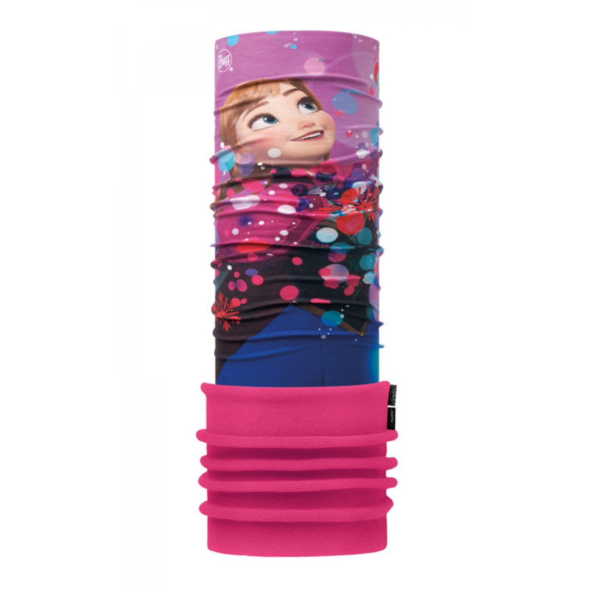 POLAR US JR FROZEN ANNA BRIGHT PINK BUFF