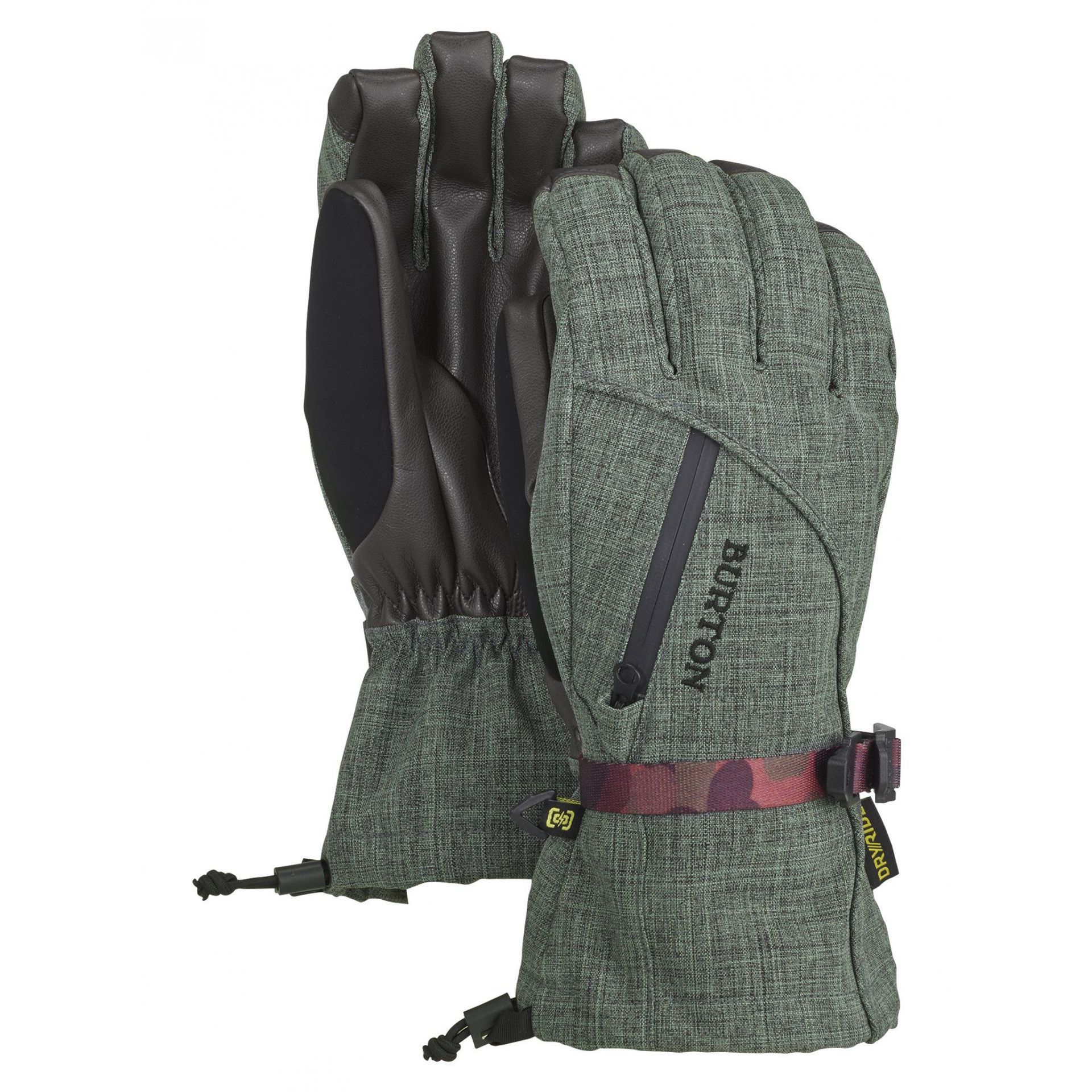 RĘKAWICE BURTON WOMEN'S BAKER 2-IN-1 GLOVE CLOVER HEATHER 103581-300