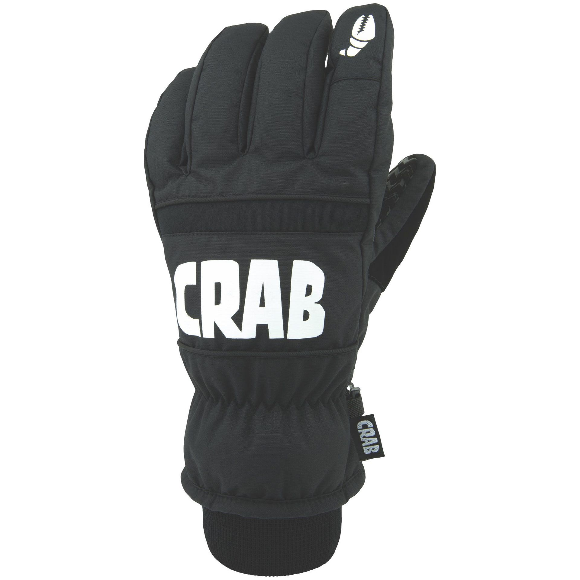 RĘKAWICE CRAB GRAB THE FIVE BLACK
