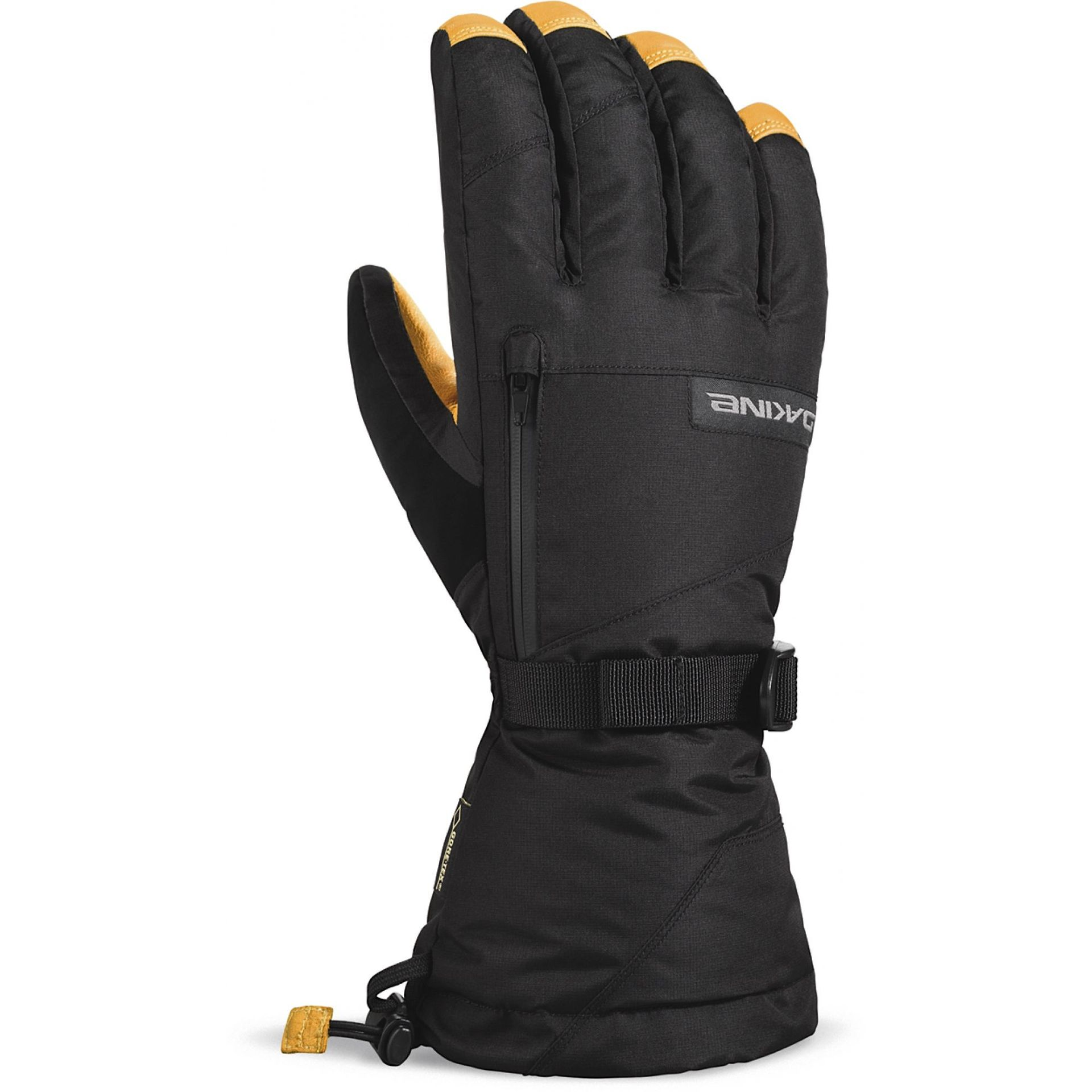 RĘKAWICE DAKINE LEATHER TITAN GLOVE BLACK TAN