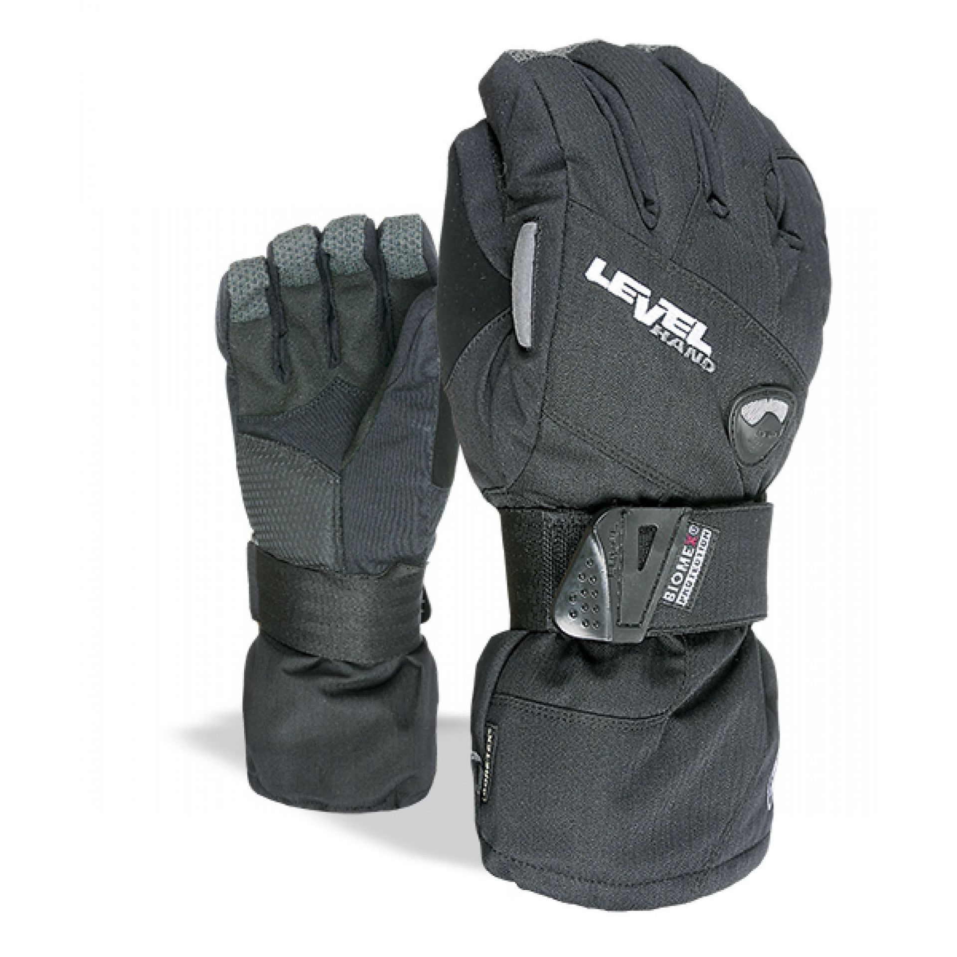 RĘKAWICE LEVEL HALF PIPE GORE-TEX 01 BLACK