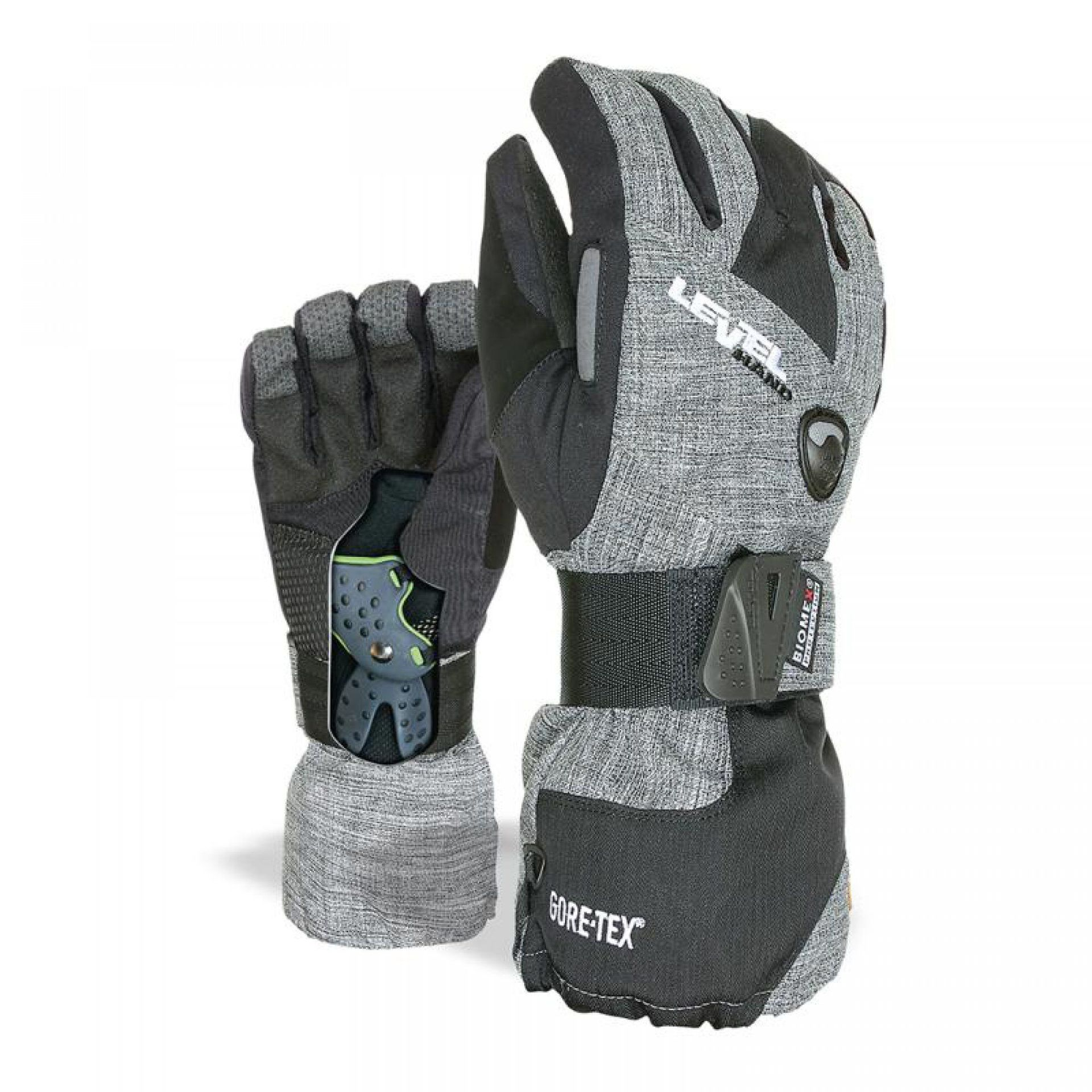 RĘKAWICE LEVEL HALF PIPE GORE-TEX 15 ANTHRACITE
