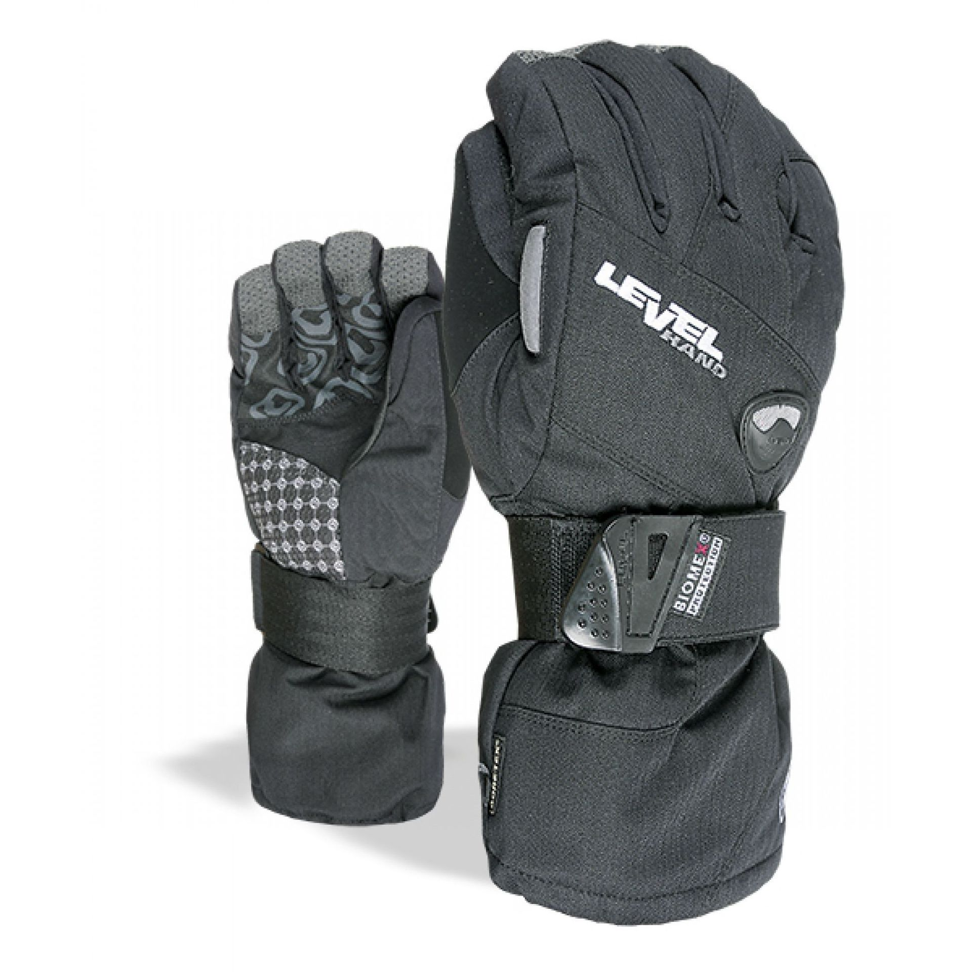 RĘKAWICE LEVEL HALF PIPE GORE-TEX BLACK