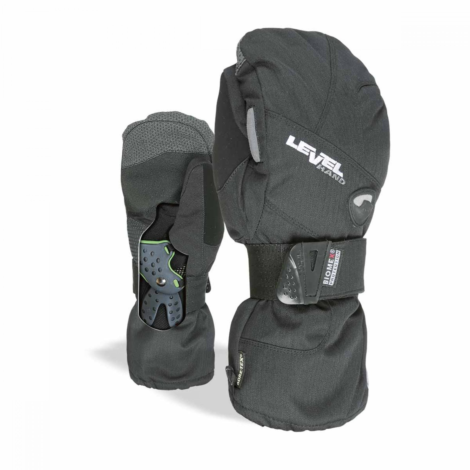 RĘKAWICE LEVEL HALF PIPE GTX MITT BLACK