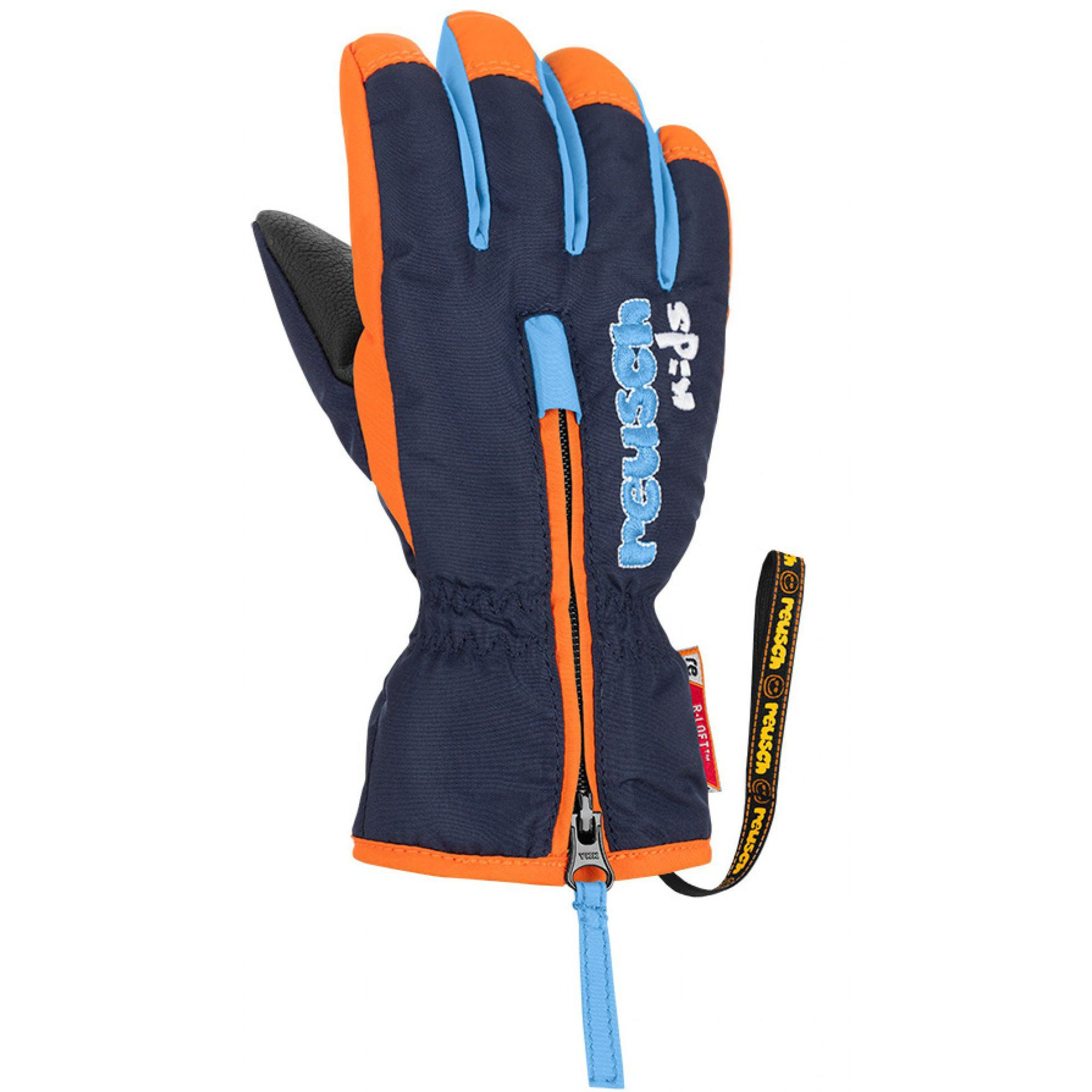 RĘKAWICE REUSCH BEN DRESS BLUE ORANGE POPSICLE 425