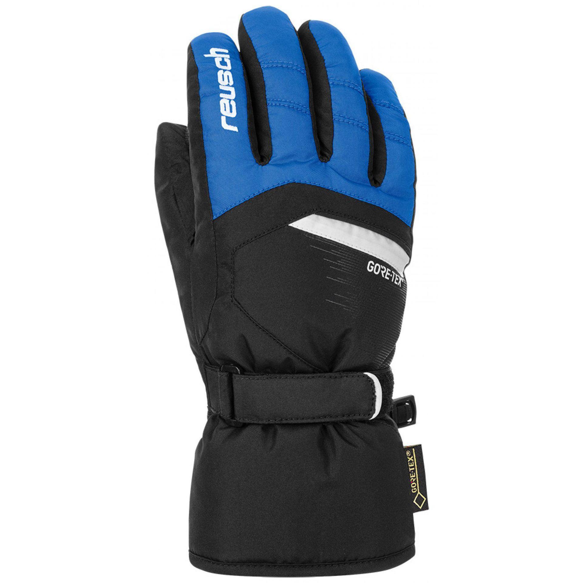RĘKAWICE REUSCH BOLT GTX JUNIOR IMPERIAL BLUE BLACK 455