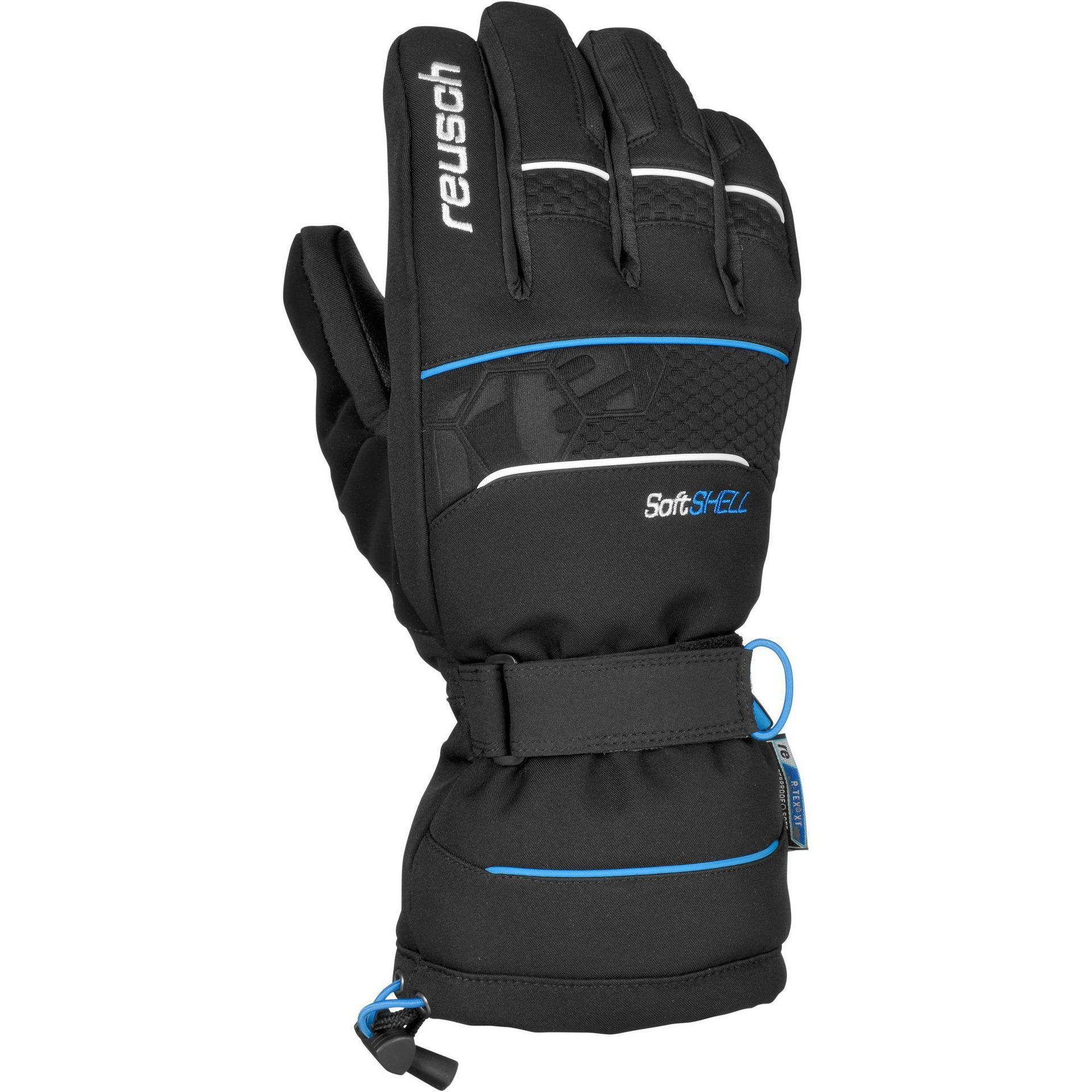 RĘKAWICE REUSCH CONNOR R-TEX XT 760 BLACK BRILLIANT BLUE