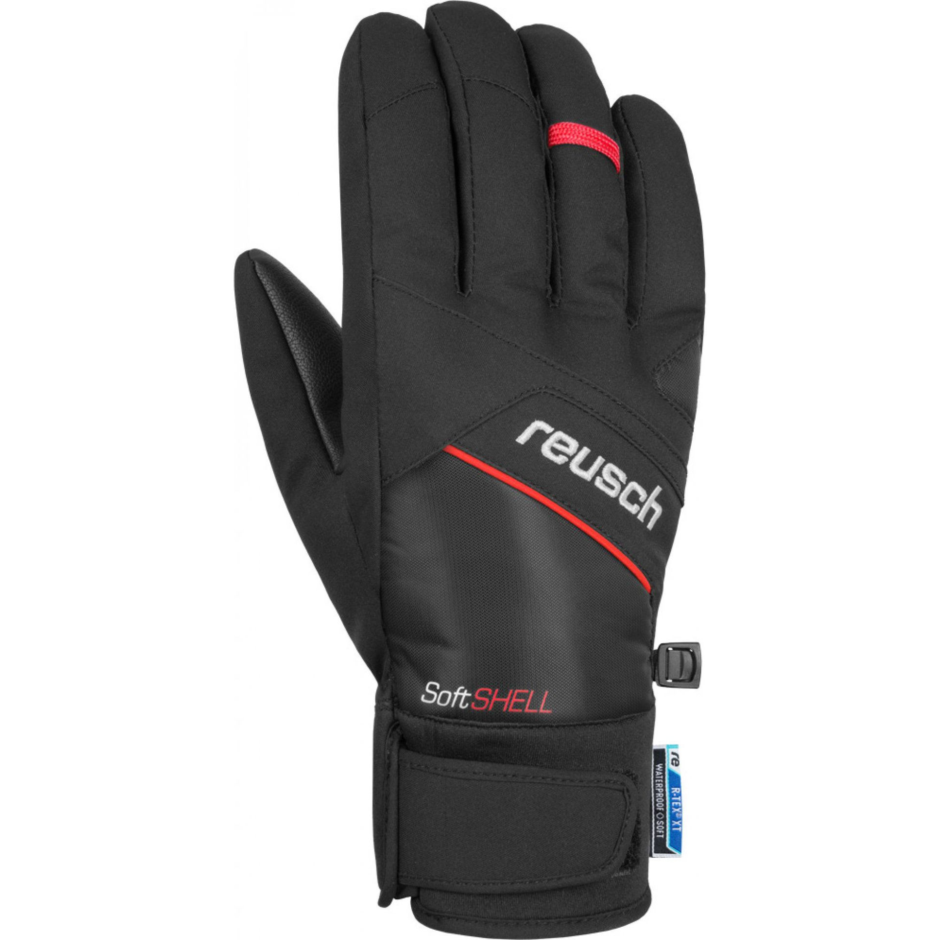 RĘKAWICE REUSCH #LUKE R-TEX XT BLACK FIRE RED 705