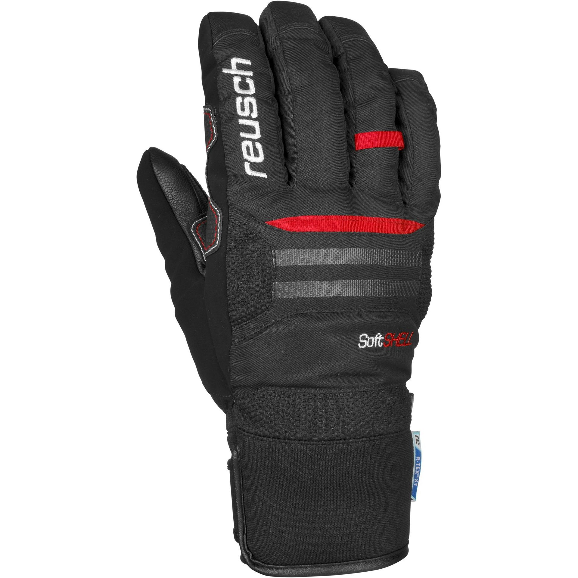 RĘKAWICE REUSCH X-RAIL R-TEX XT 705 BLACK FIRE RED