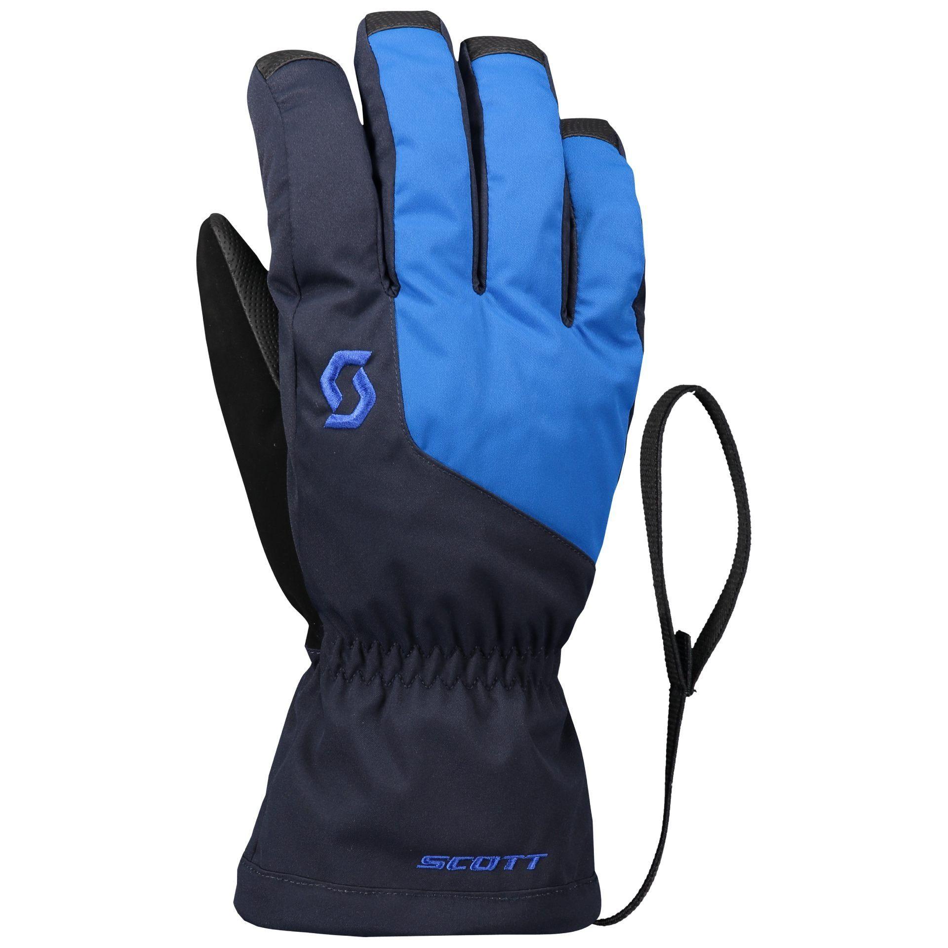 RĘKAWICE SCOTT ULTIMATE GTX GLOVE 277941 DARK BLUE SKYDIVE BLUE