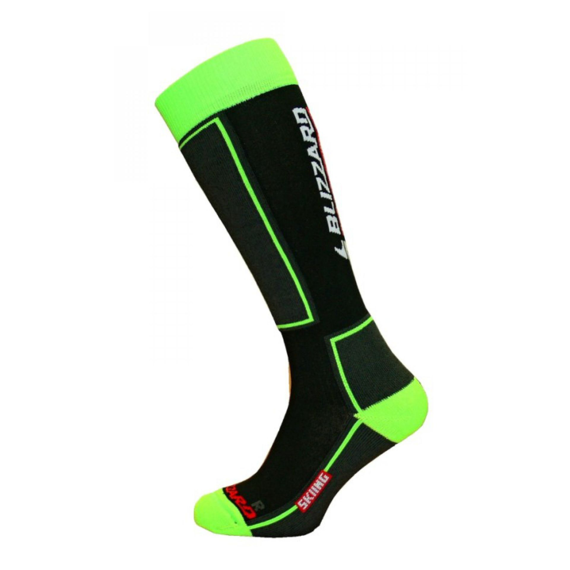 SKARPETY BLIZZARD SKIING BLACK GREEN