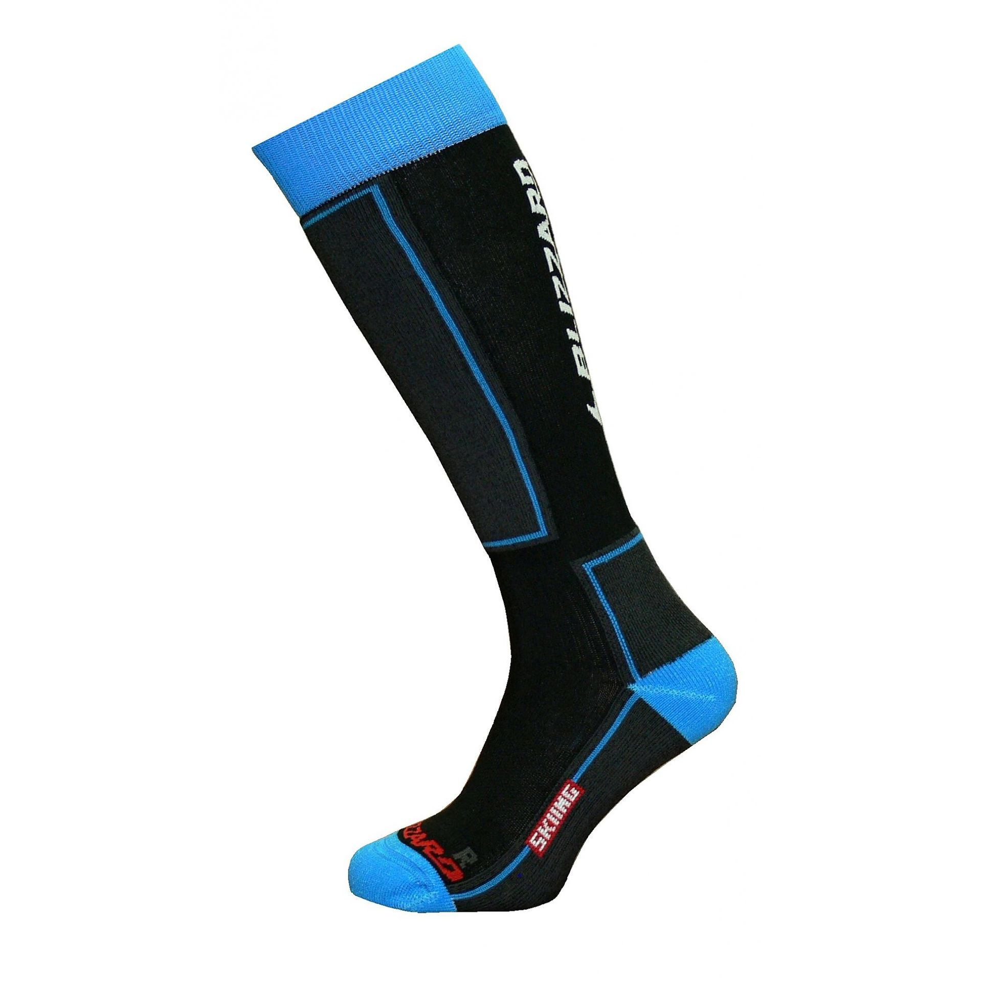 SKARPETY BLIZZARD SKIING JUNIOR BLACK BLUE