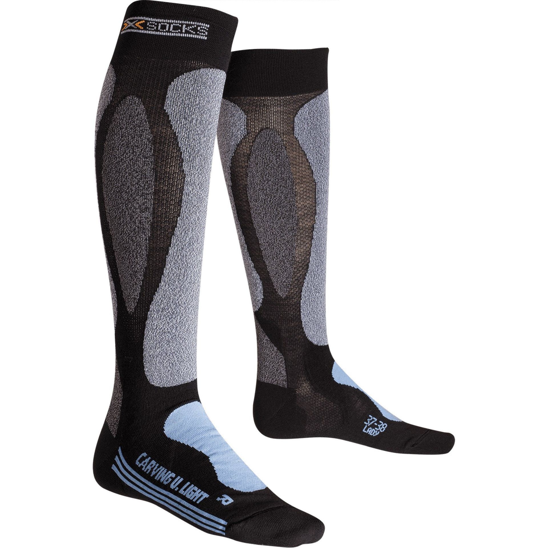 SKARPETY NARCIARSKIE X-SOCKS SKI CARVING ULTRALIGHT LADY B112
