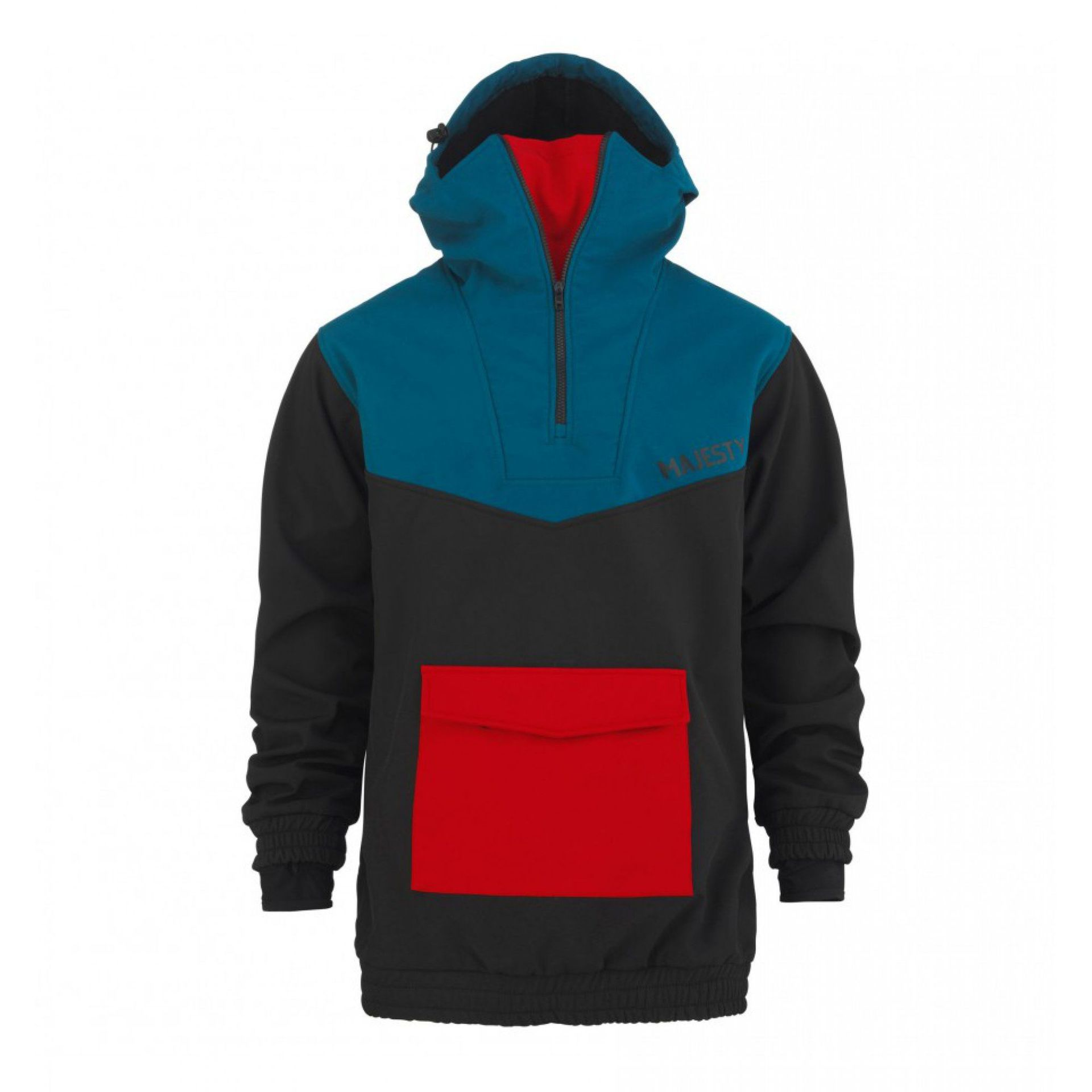 SOFTSHELL MAJESTY ANORAK BLACK|BLUE|RED 1