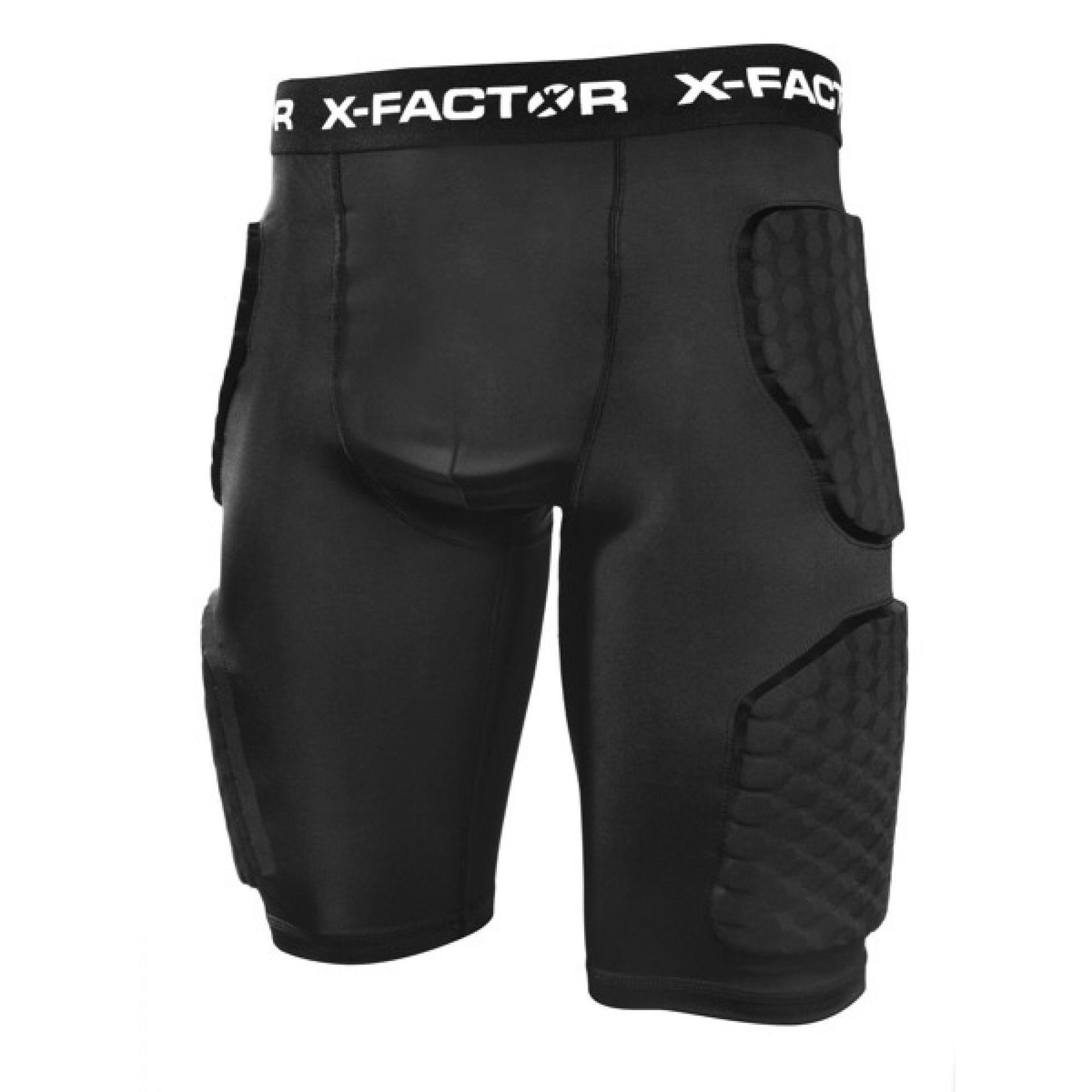 SPODENKI OCHRONNE X-FACTOR QBI BLACK 1