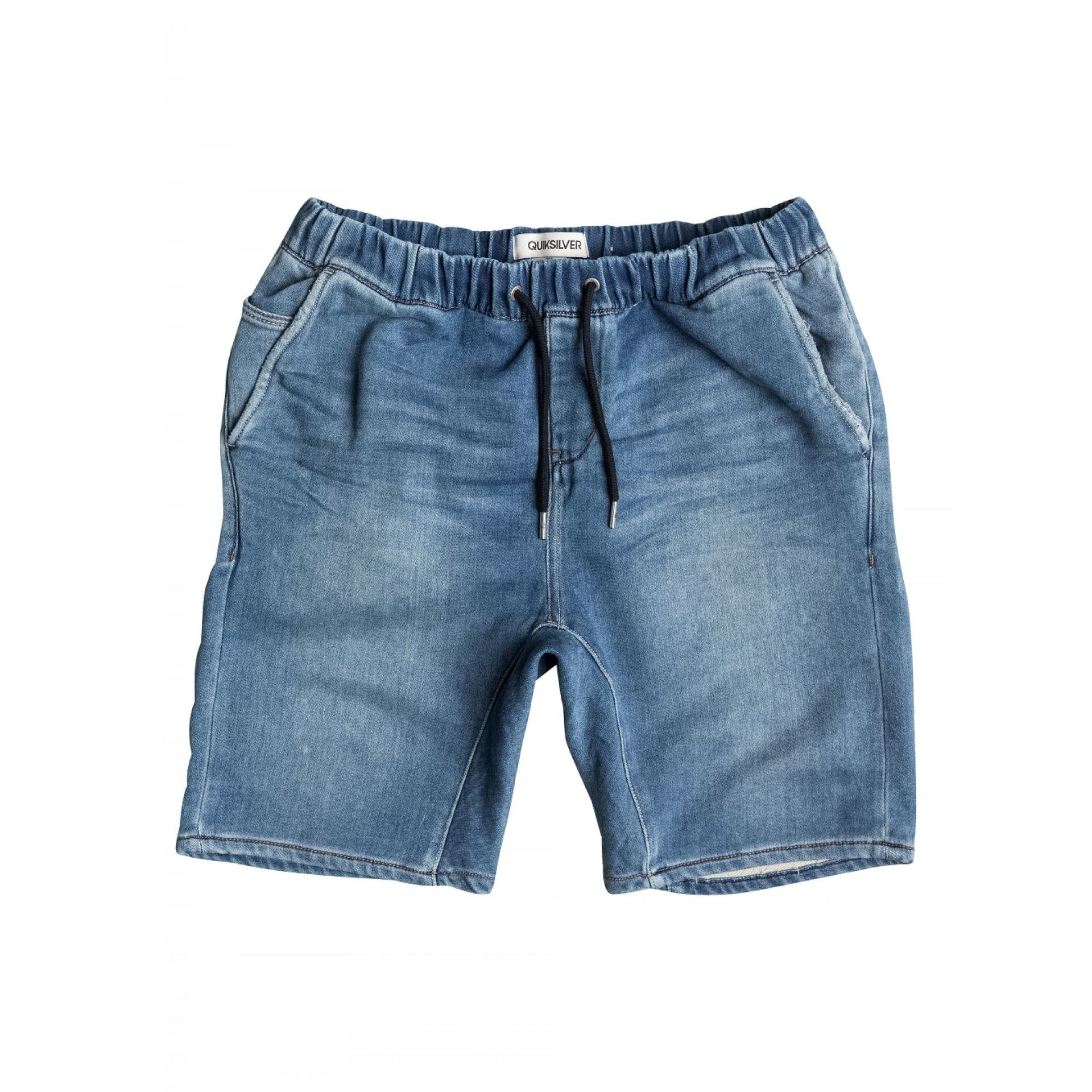 SPODENKI QUIKSILVER FONIC DENIM FLEECE SHORT 0