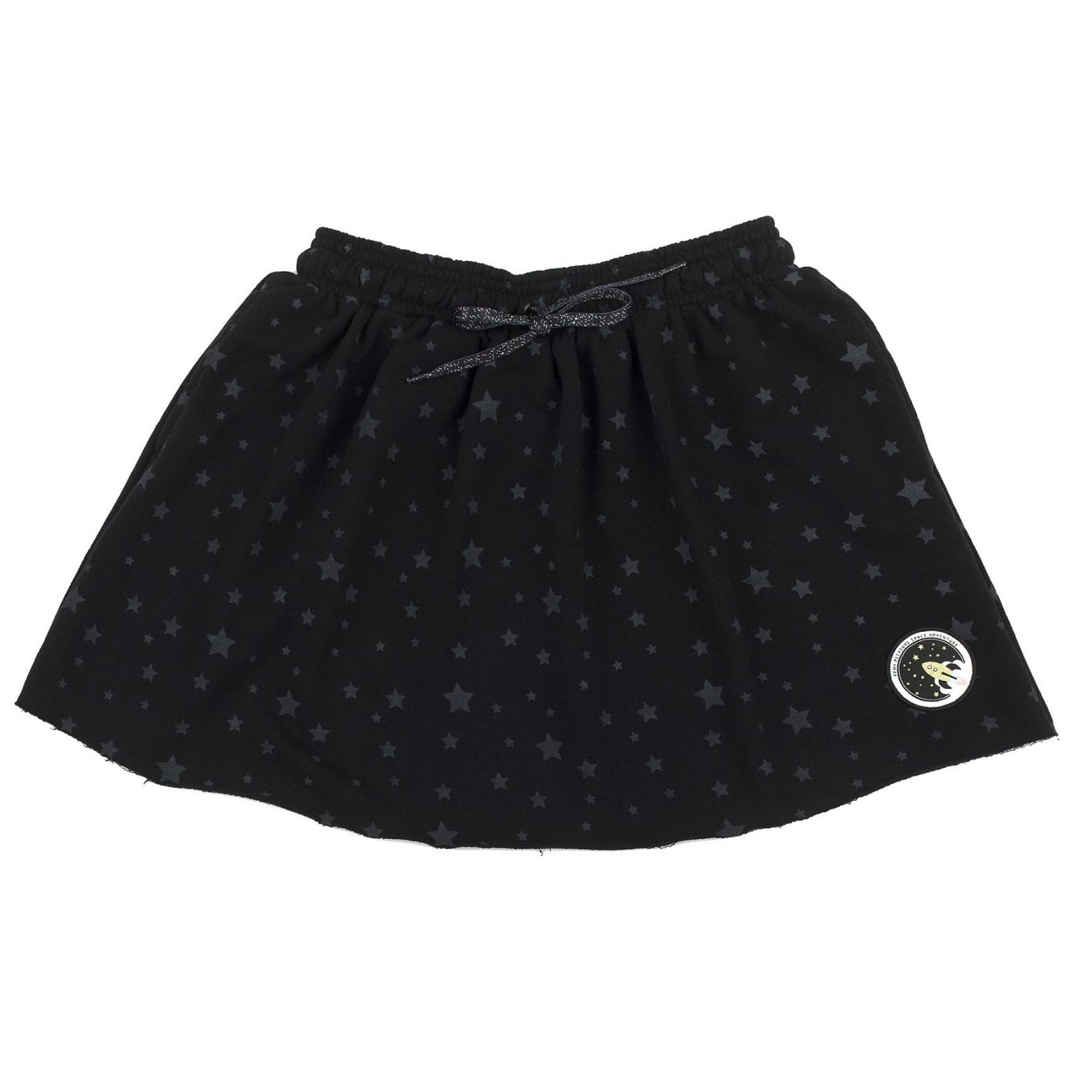 SPÓDNICA FEMI PLEASURE  LILA PIRATE BLACK