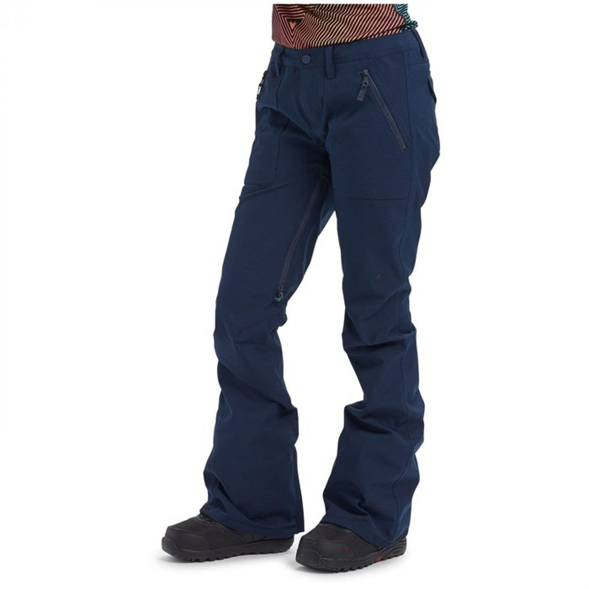 SPODNIE BURTON VIDA DRESS BLUE 150061 400 1