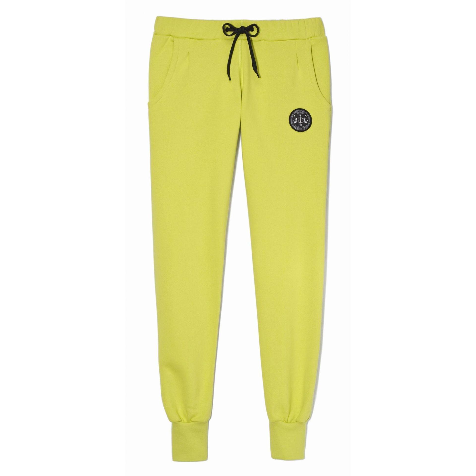 Spodnie Femi Pleasure Rhodos limonkowe
