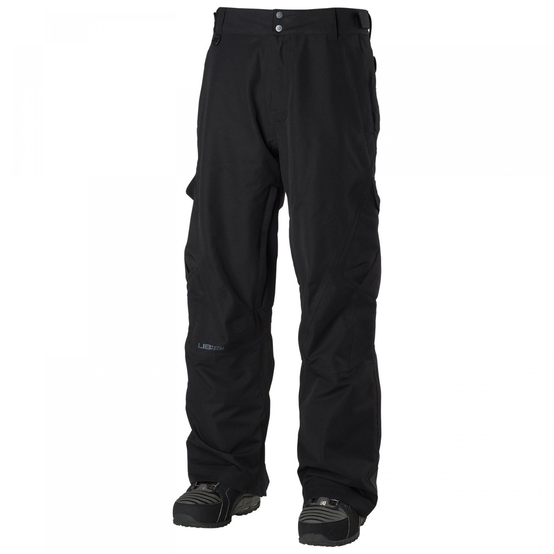 SPODNIE  LIB TECH GO CAR PANT BLACK