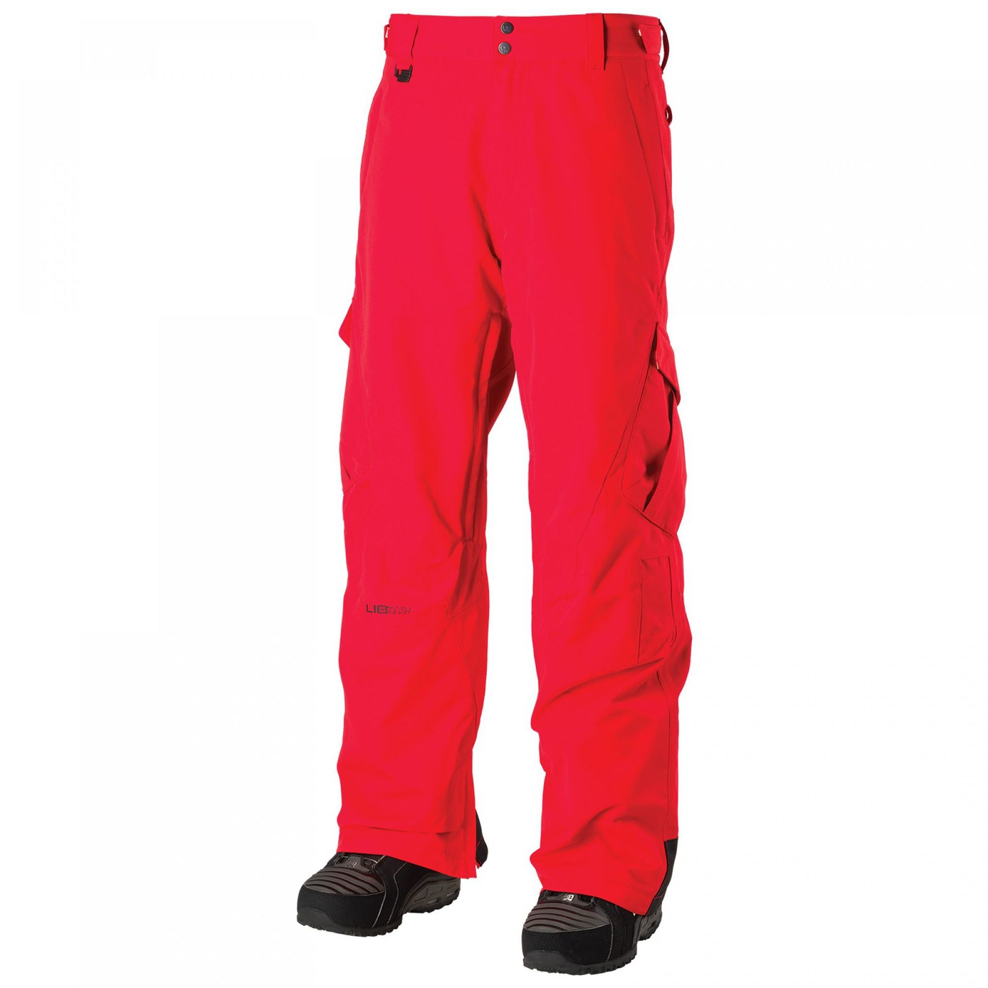 SPODNIE  LIB TECH GO CAR PANT RED