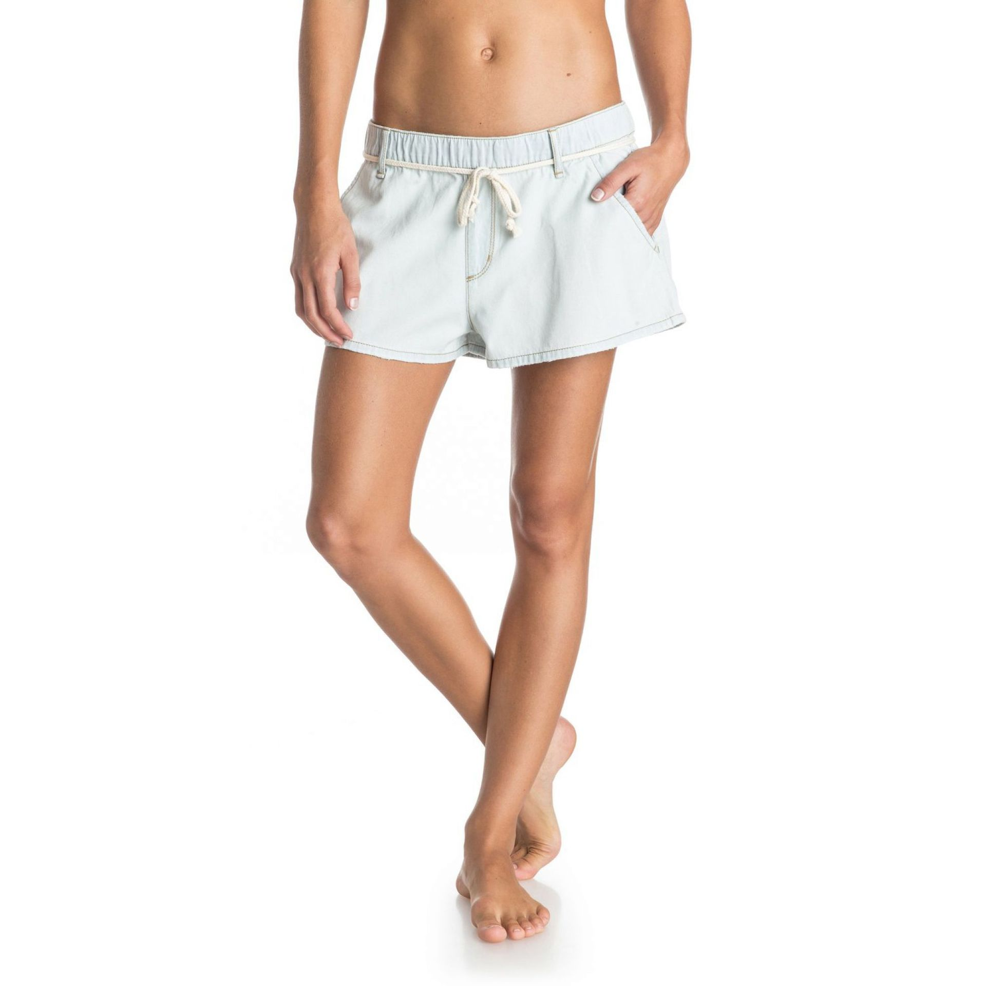 SPODNIE ROXY BEACHY BEACH DENIM SHORTS 0