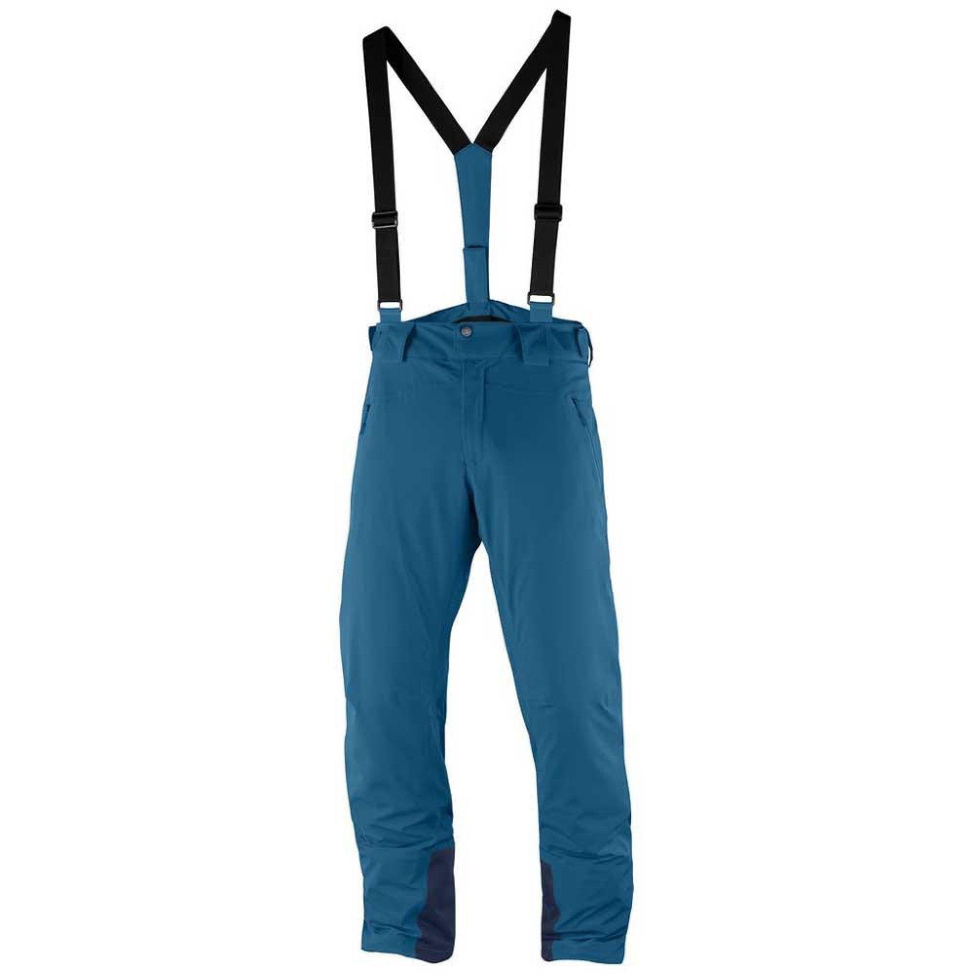 SPODNIE SALOMON ICEGLORY PANT M REGULAR MOROCCAN BLUE