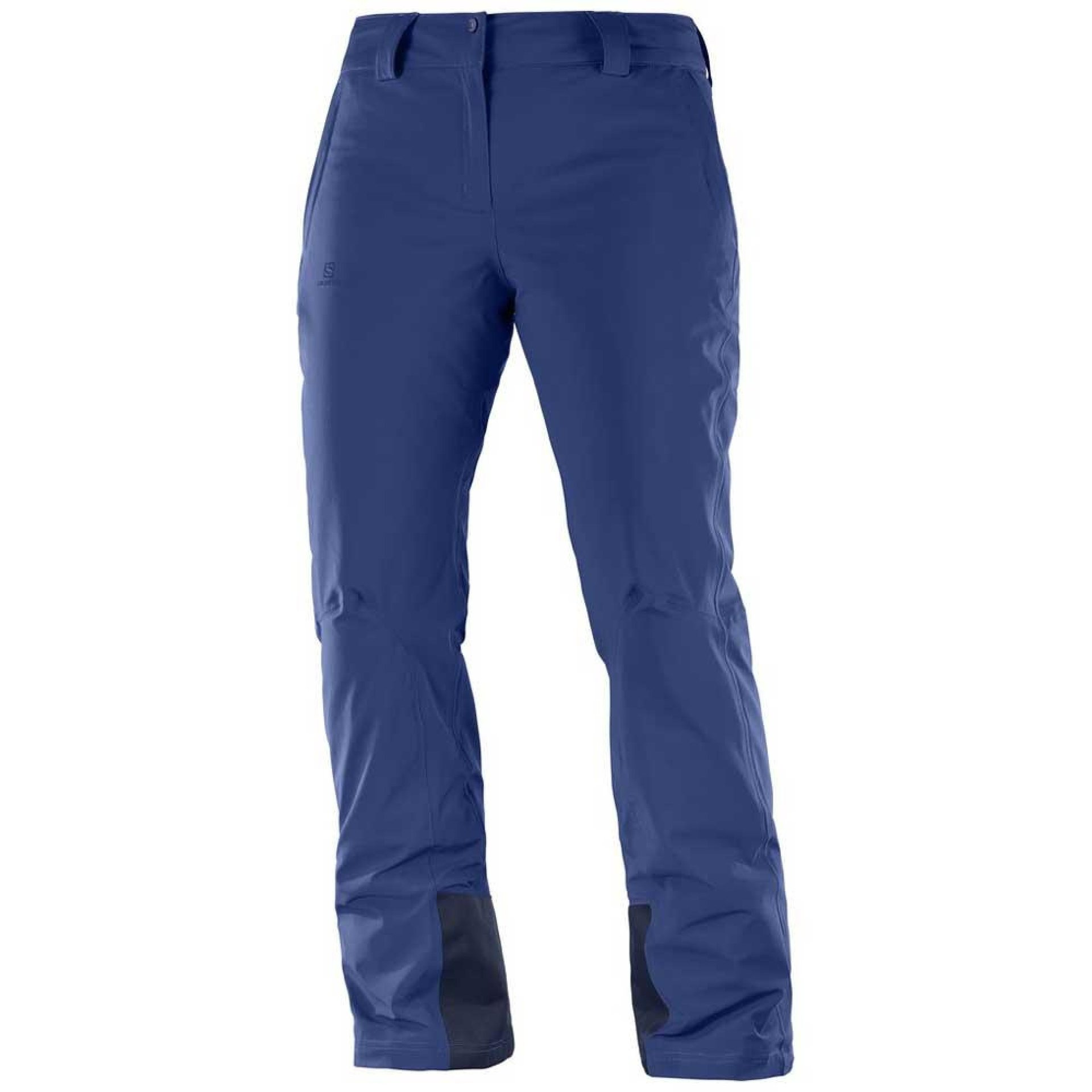 SPODNIE SALOMON ICEMANIA PANT W REGULAR MEDIEVAL BLUE