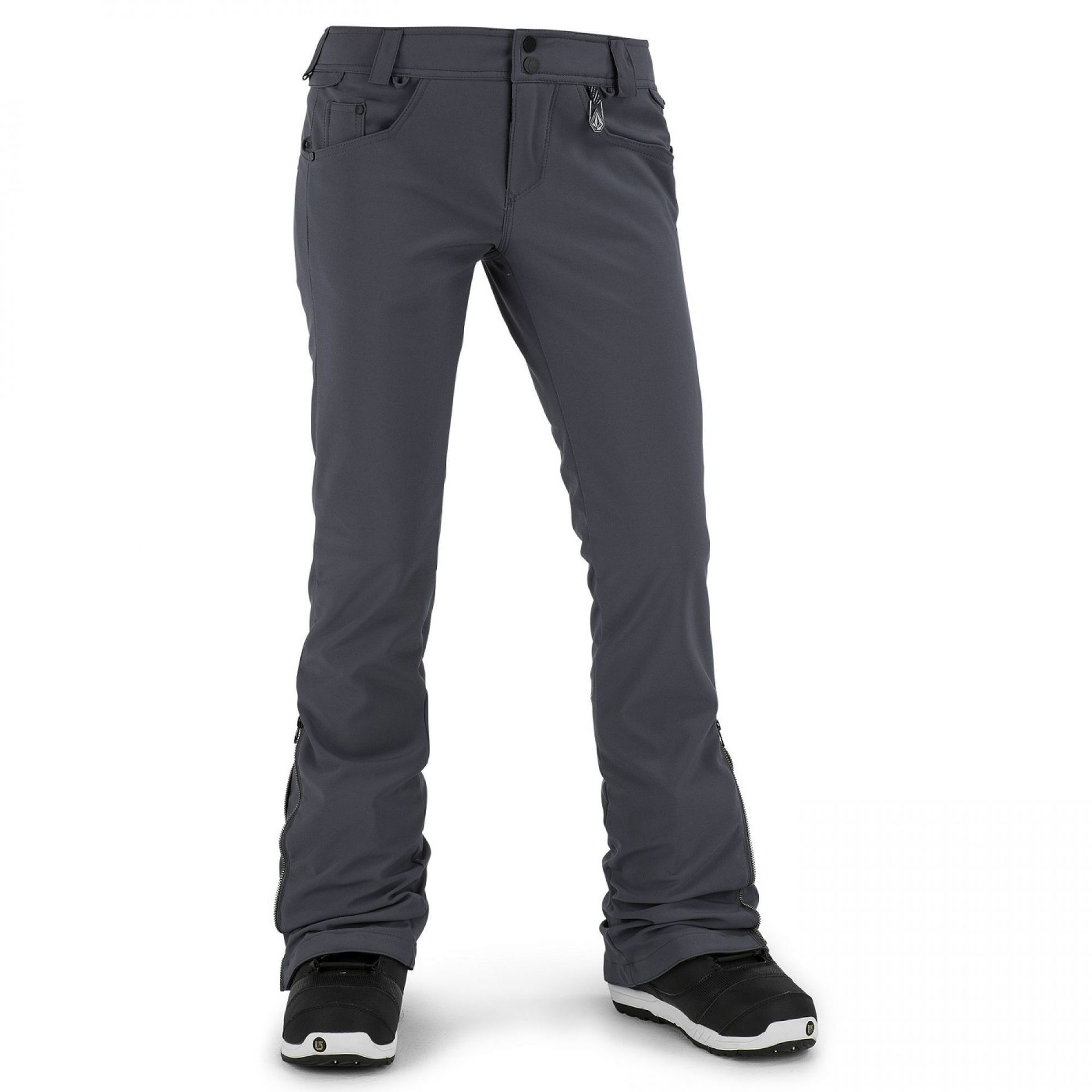 SPODNIE VOLCOM BATTLE  STRETCH PANT CHARCOAL