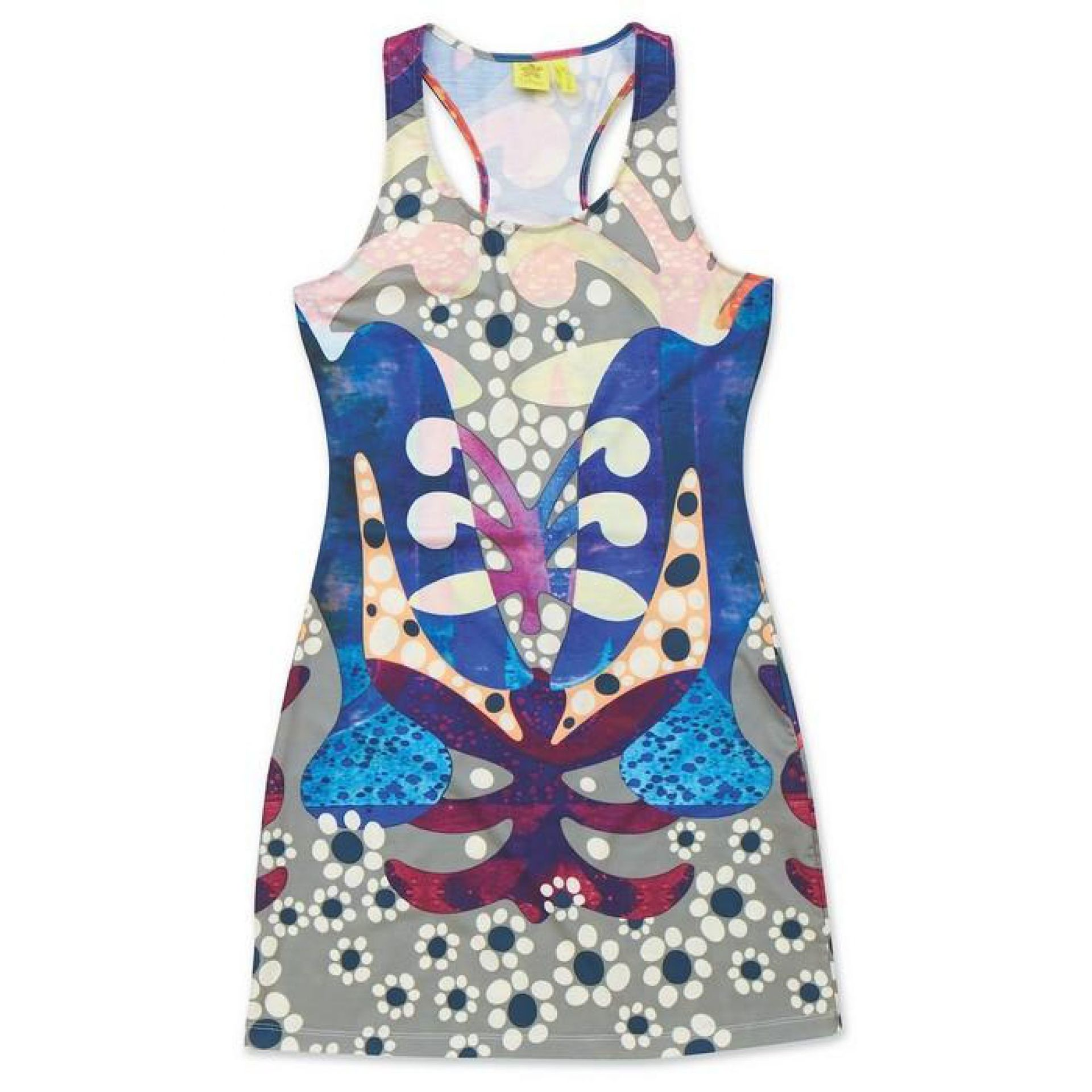 SUKIENKA DAKINE NANI MINI DRESS PEACE LOVE DOVE