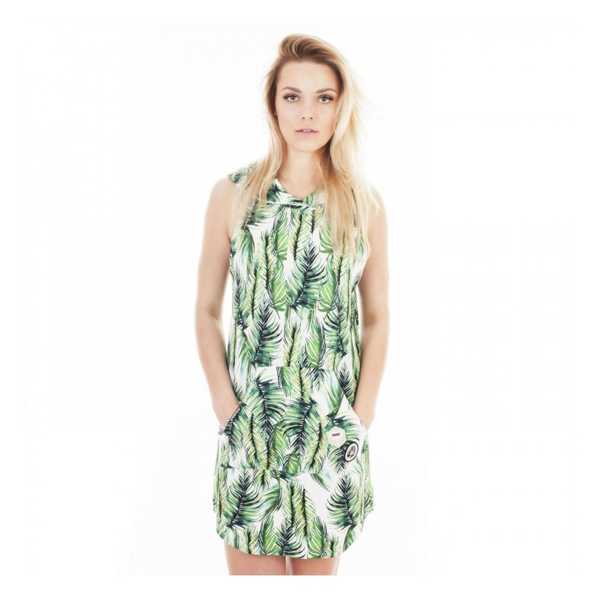 SUKIENKA ŚWINIE PALMS DRESS 2016 ZIELONY 1