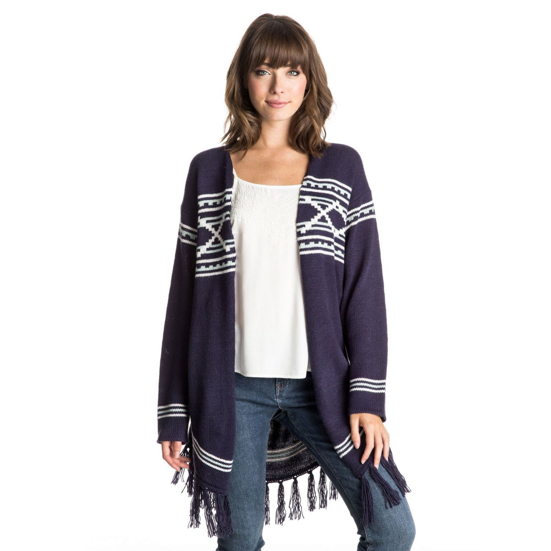 SWETER ROXY FALSE ECHOES CARDIGAN 1