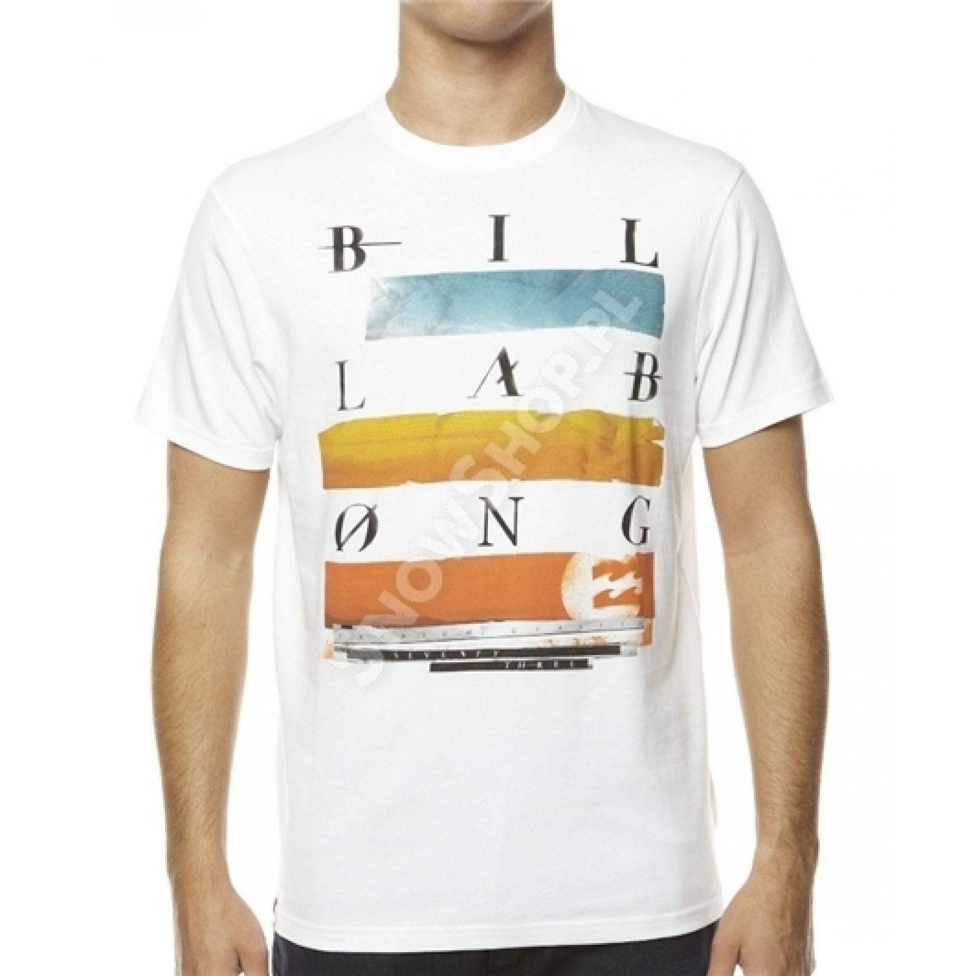 T-shirt Billabong Oscilate biały